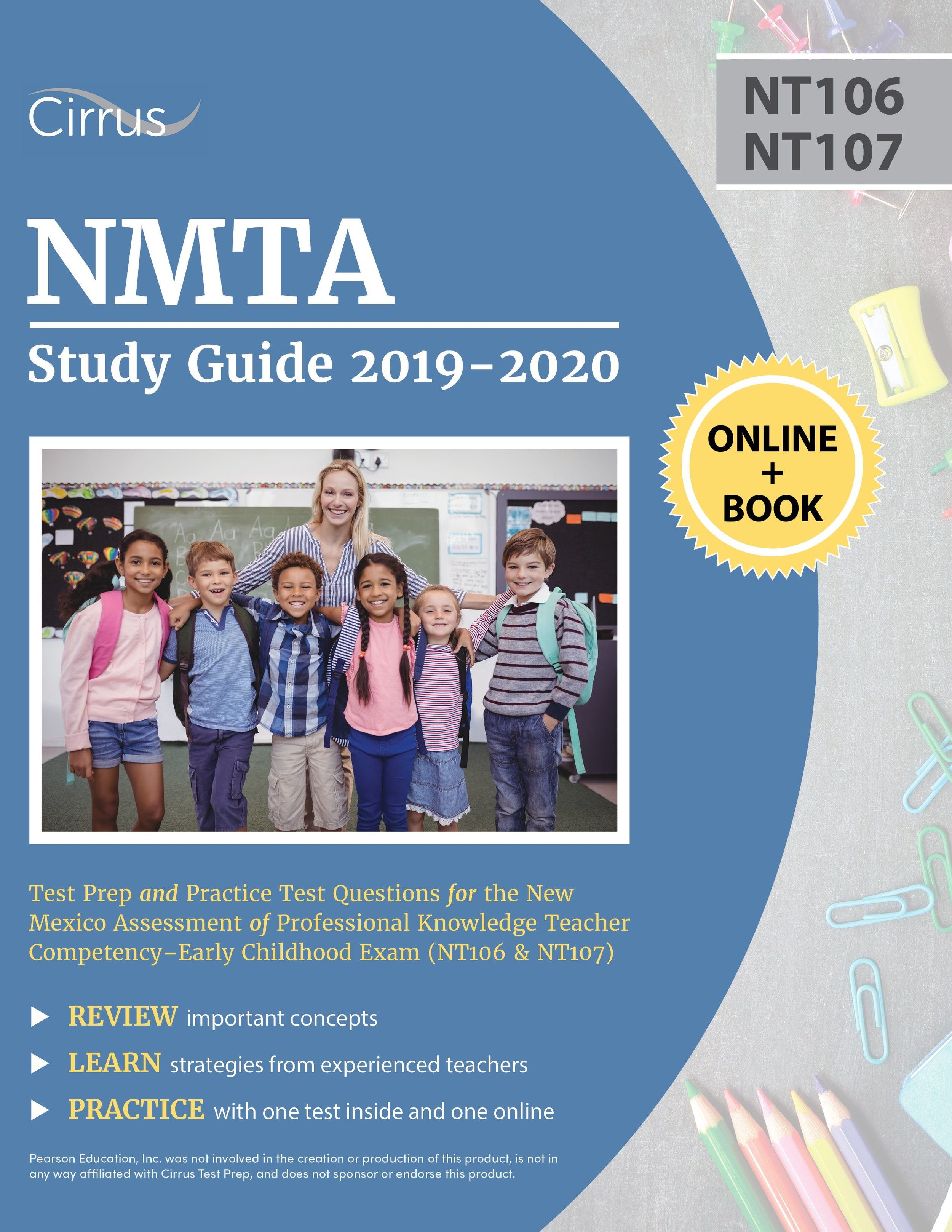 NMTA Early Childhood (NT106, NT107)  Study Guide 2019 – 2020