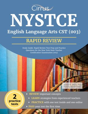 NYSTCE ELA: Rapid Review Book — by Cirrus Test Prep