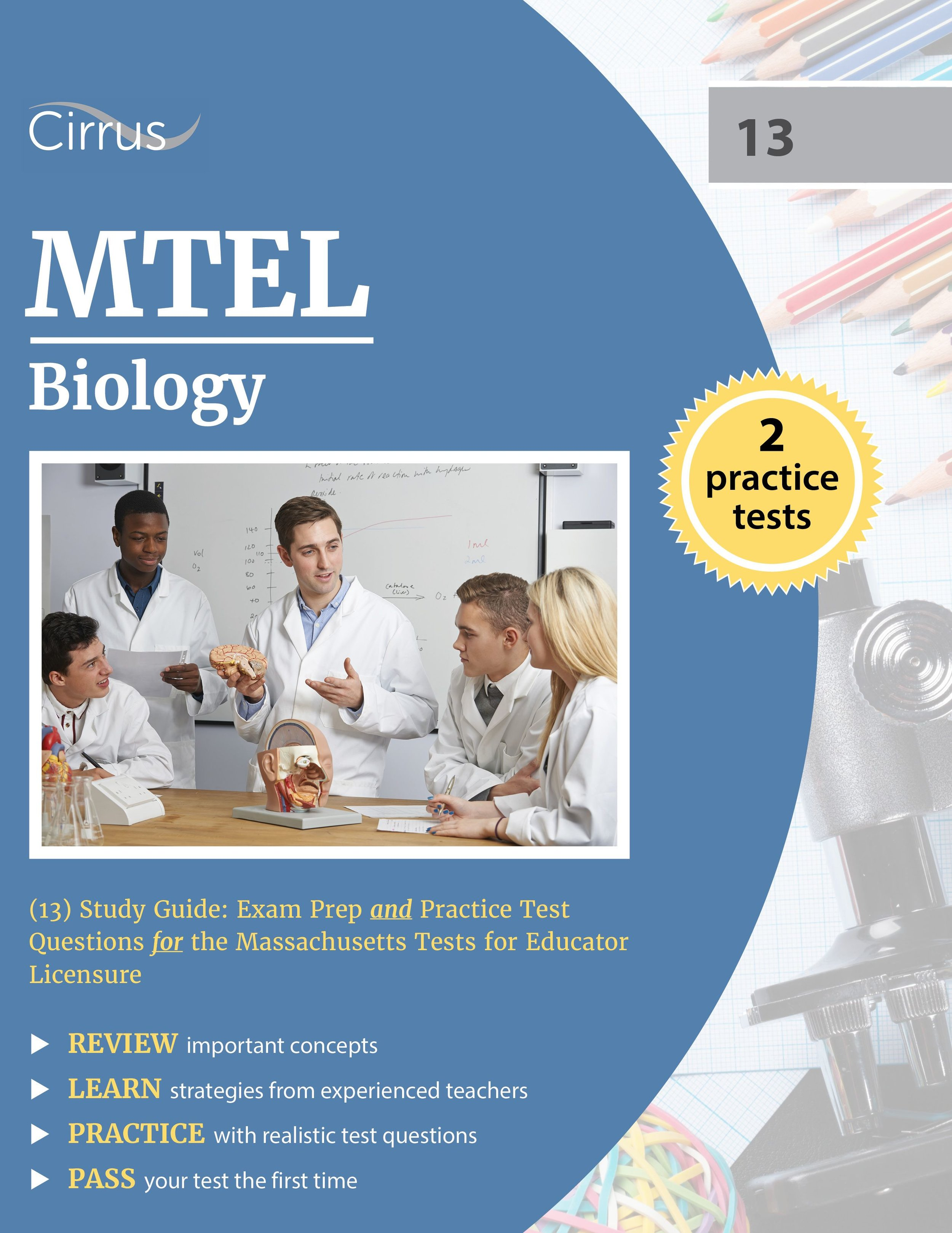 MTEL Biology 13 Study Guide Exam Prep and Practice Test Questions
