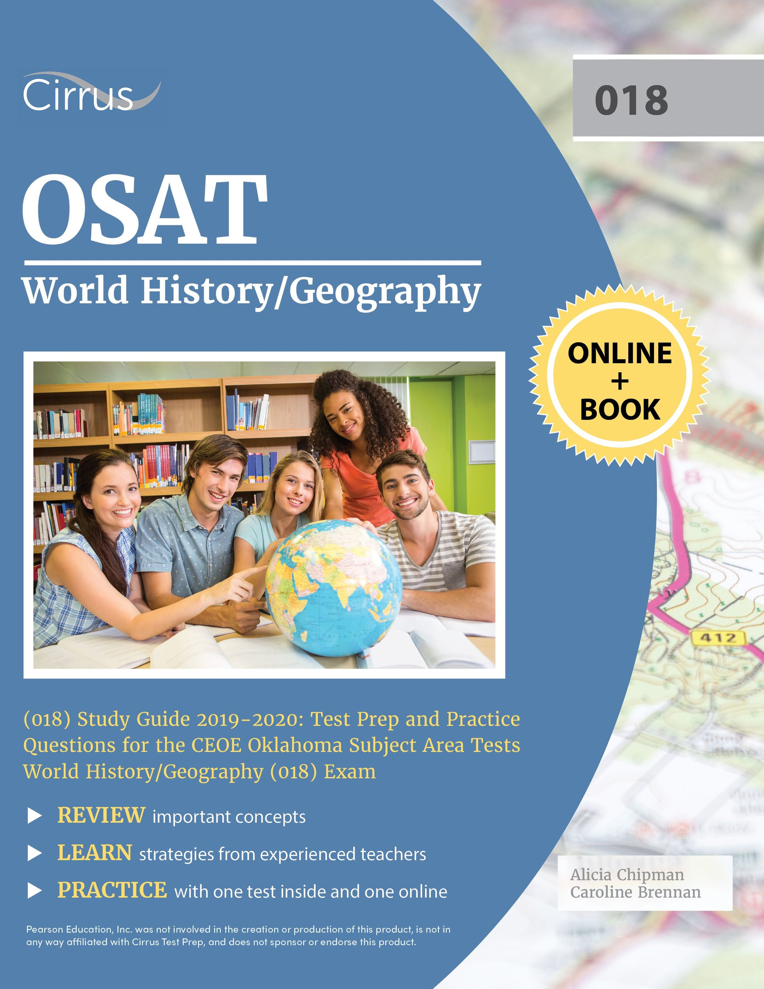 OSAT World History Geography 018 Study Guide Test Prep and Practice Questions