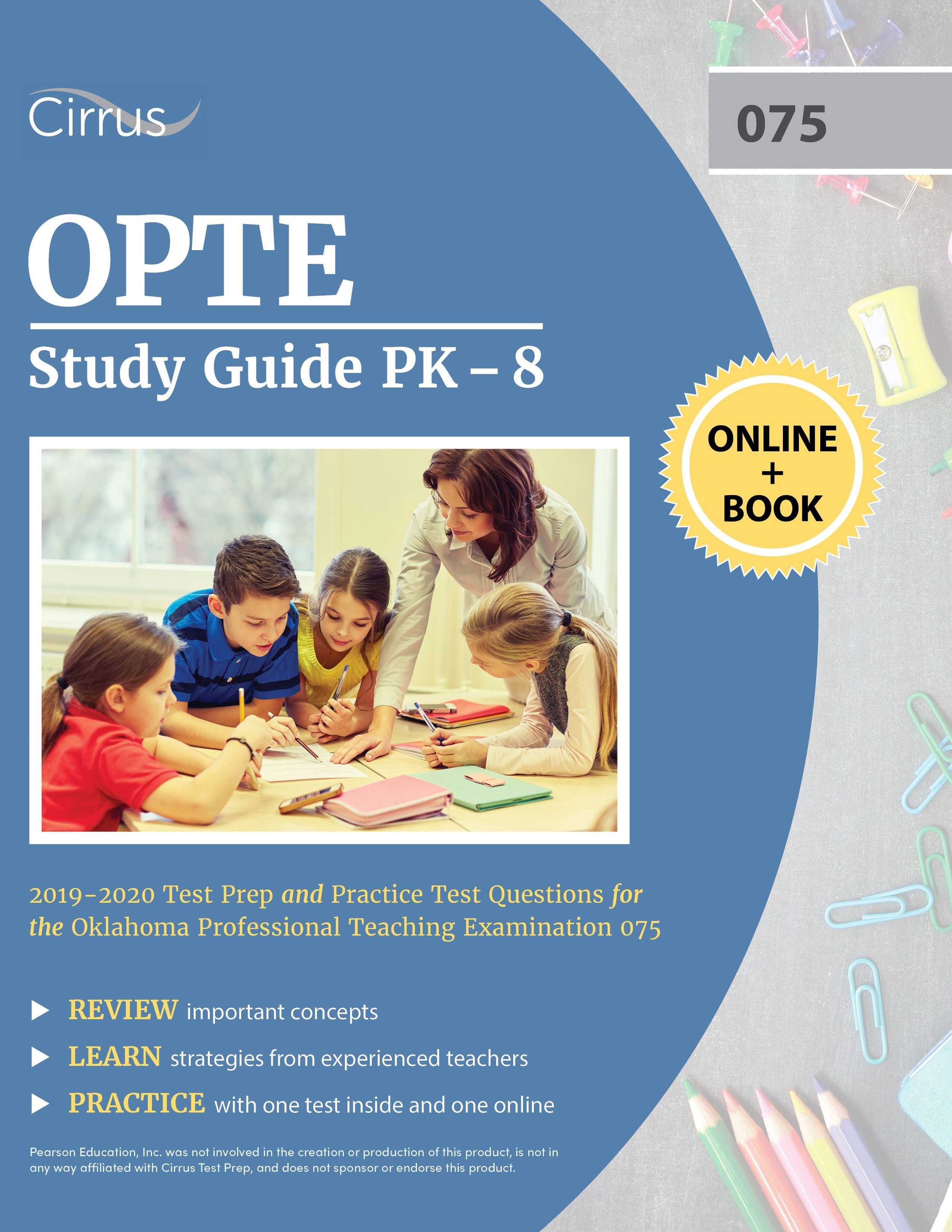 OPTE Study Guide PK  –  8 (075) 2019 – 2020