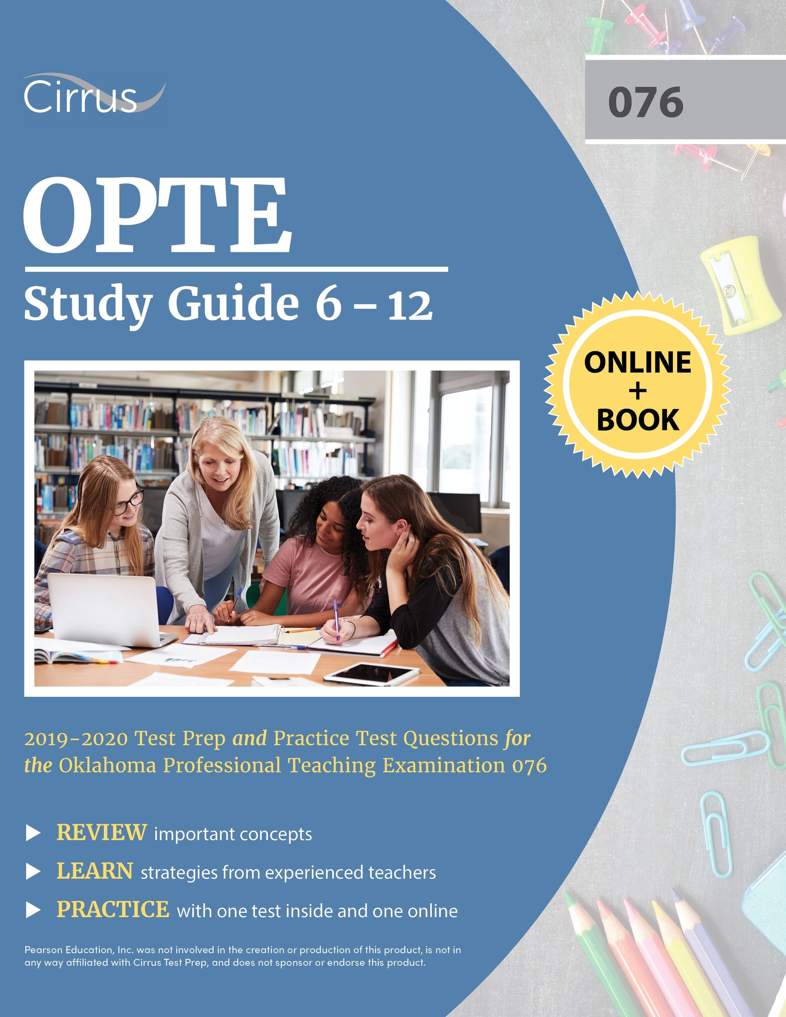 OPTE Study Guide 6 – 12 (076) 2019 – 2020