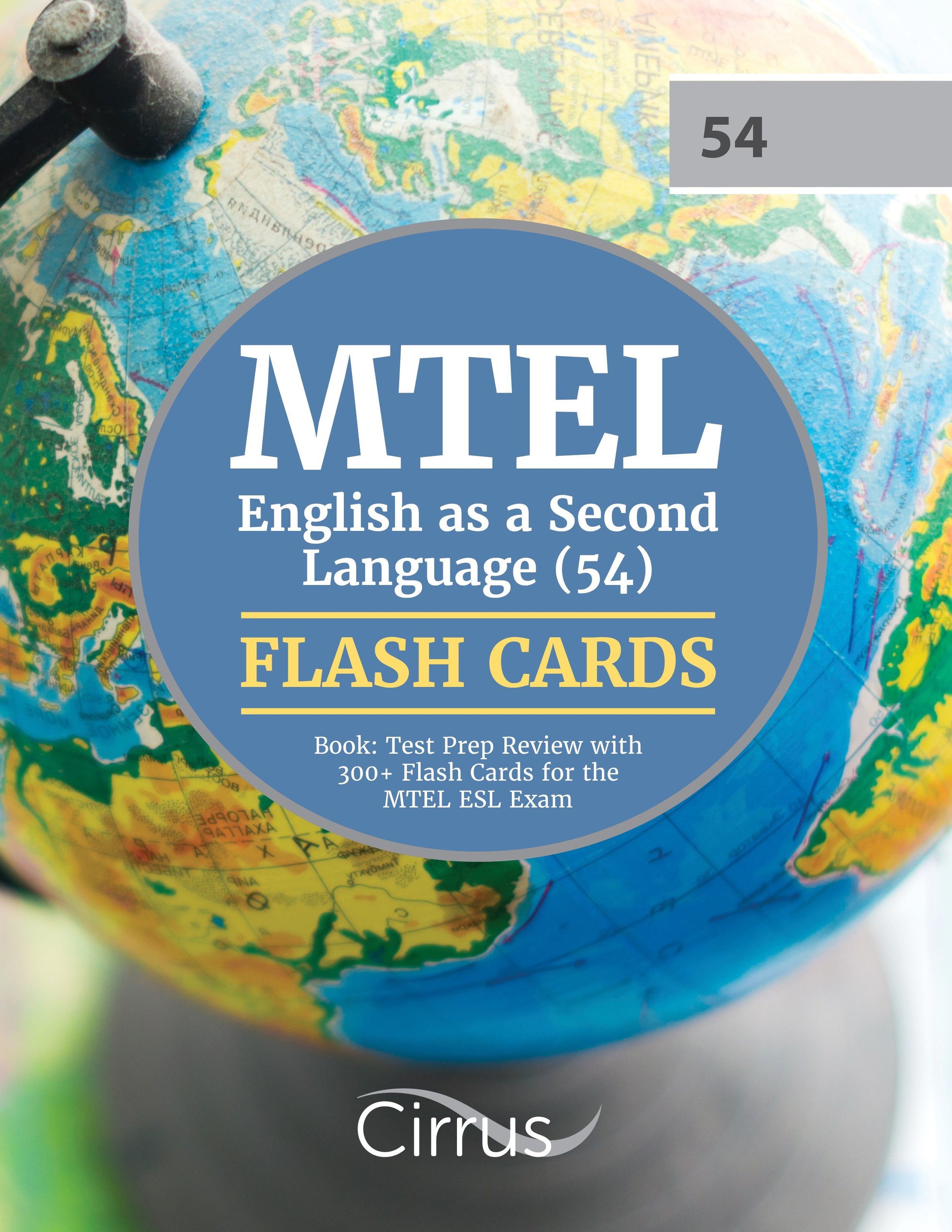 MTEL English as a Second Language (54)  Flash Cards Book