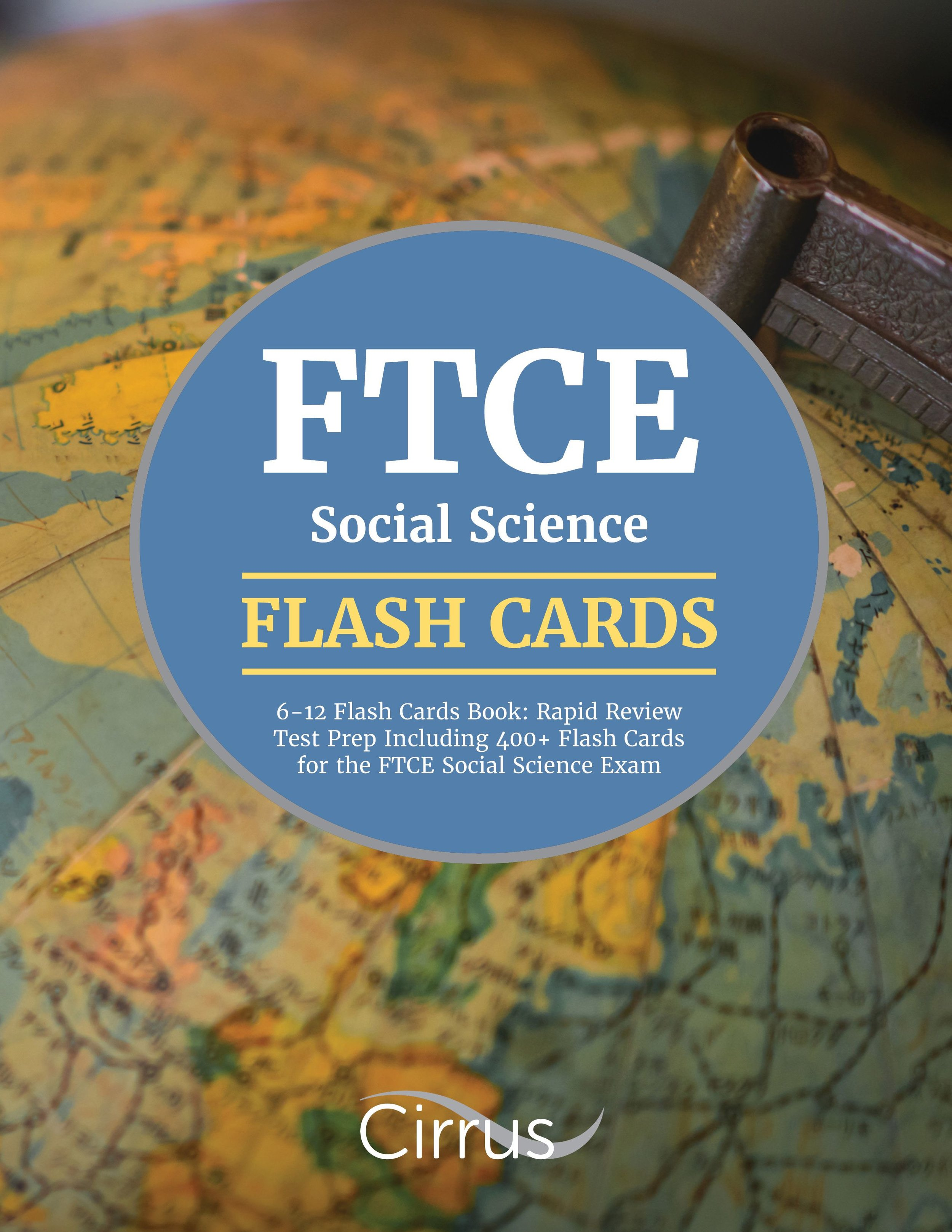 FTCE Social Science 6    –    12 Flash Cards Book