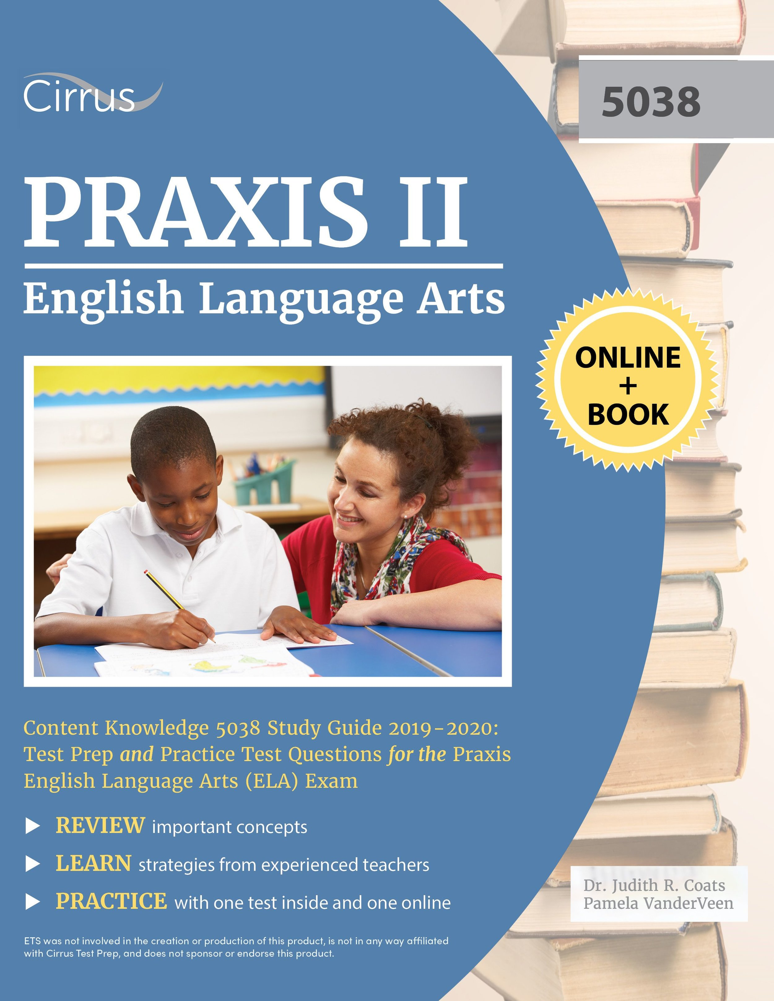 Praxis II English Language Arts Content Knowledge 5038 Study Guide 2019 – 2020