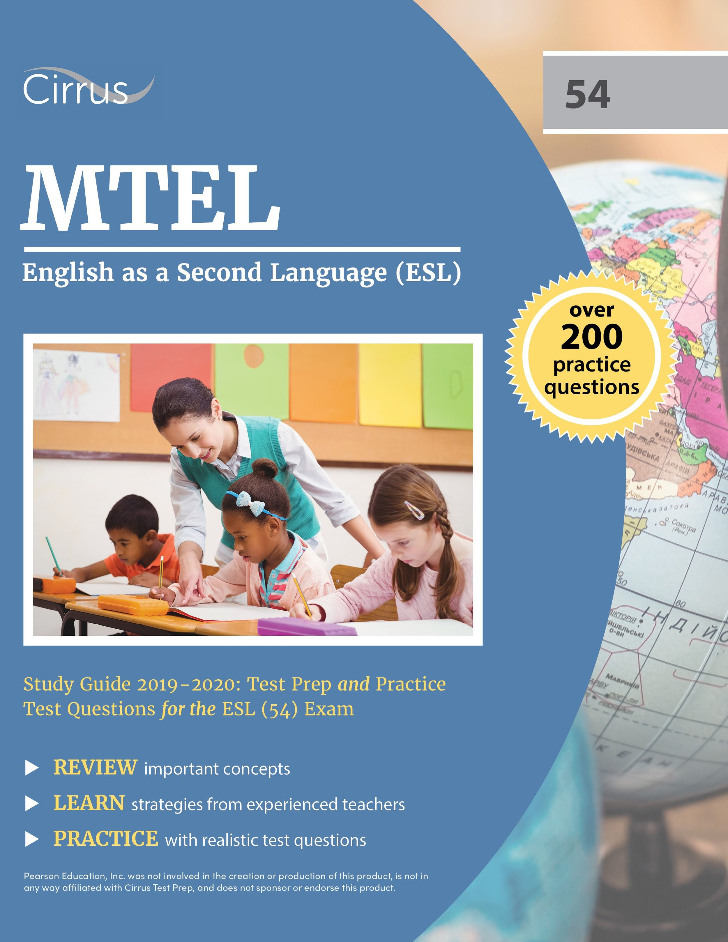 MTEL English as a Second Language (54) Study Guide 2019 – 2020