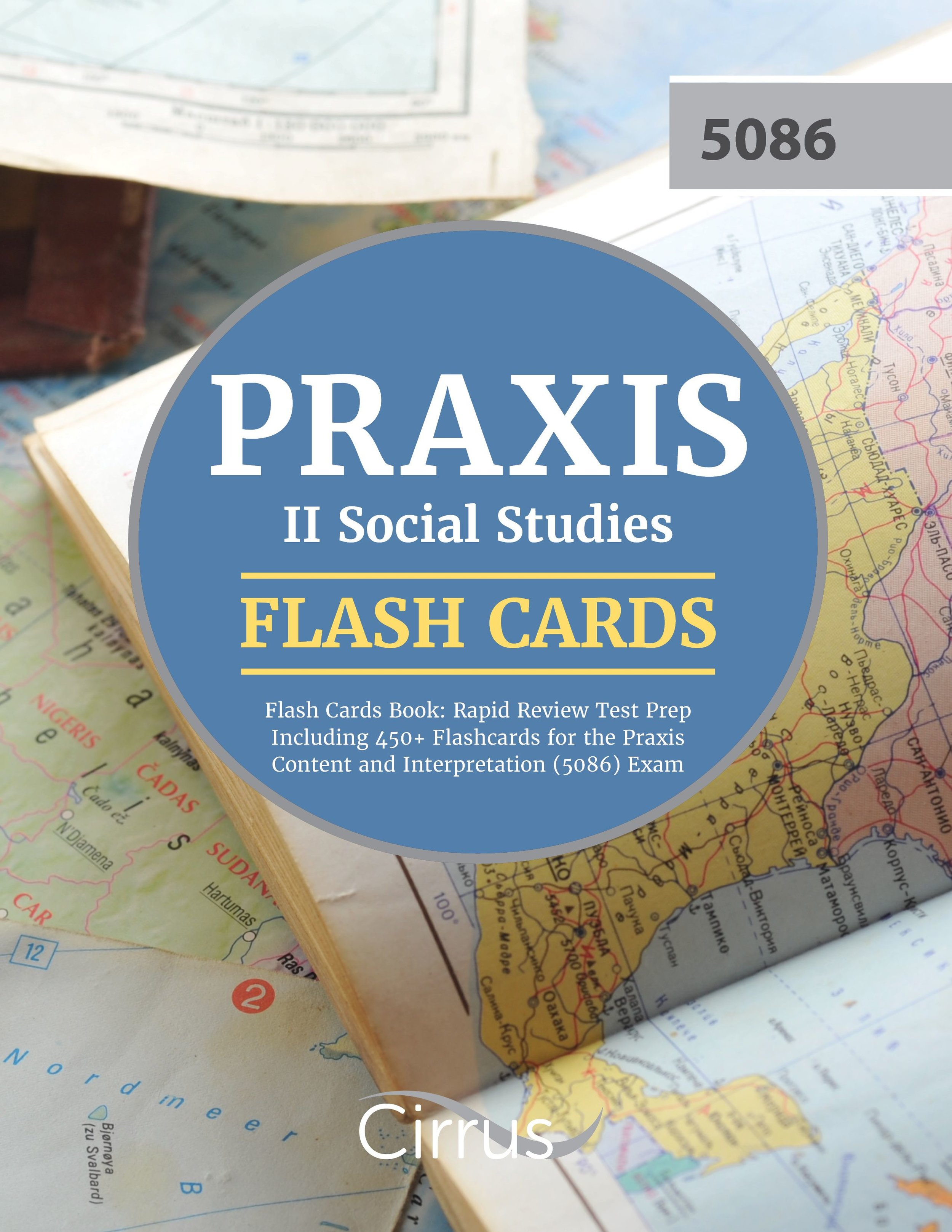 Praxis II Social Studies Flash Cards Book