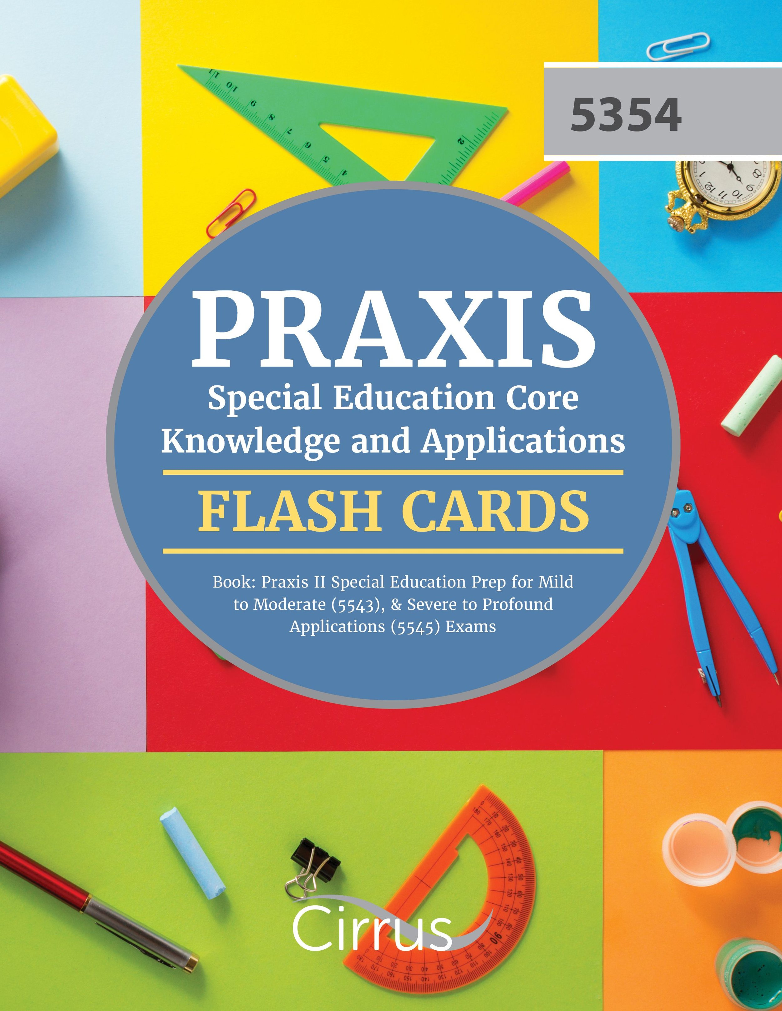 Praxis Special Education Core Knowledge and Applications Flash Cards Book