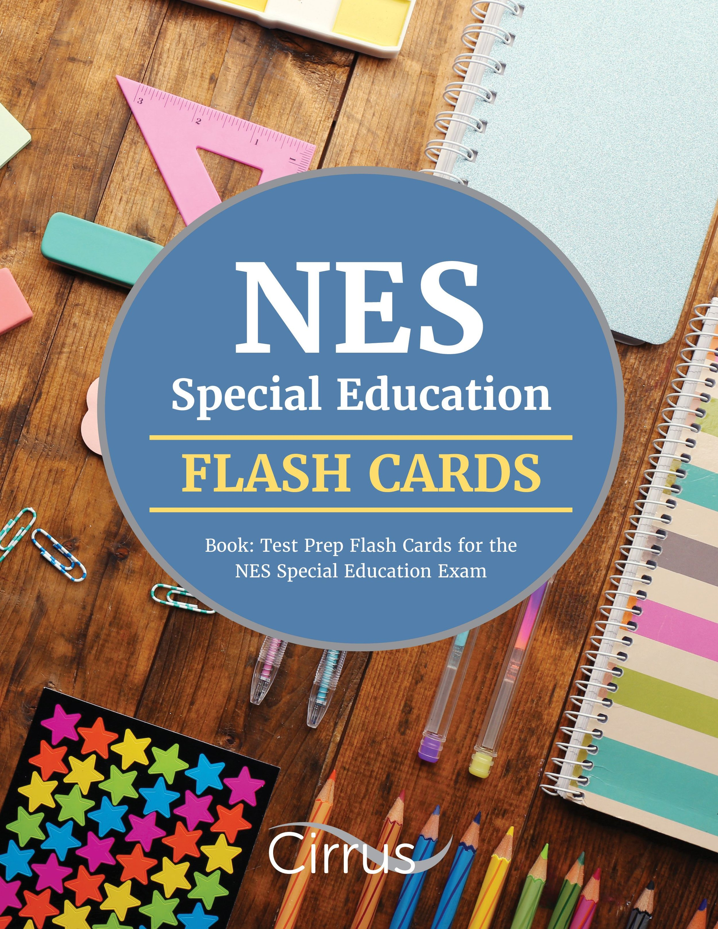 NES Special Education Flash Cards Book