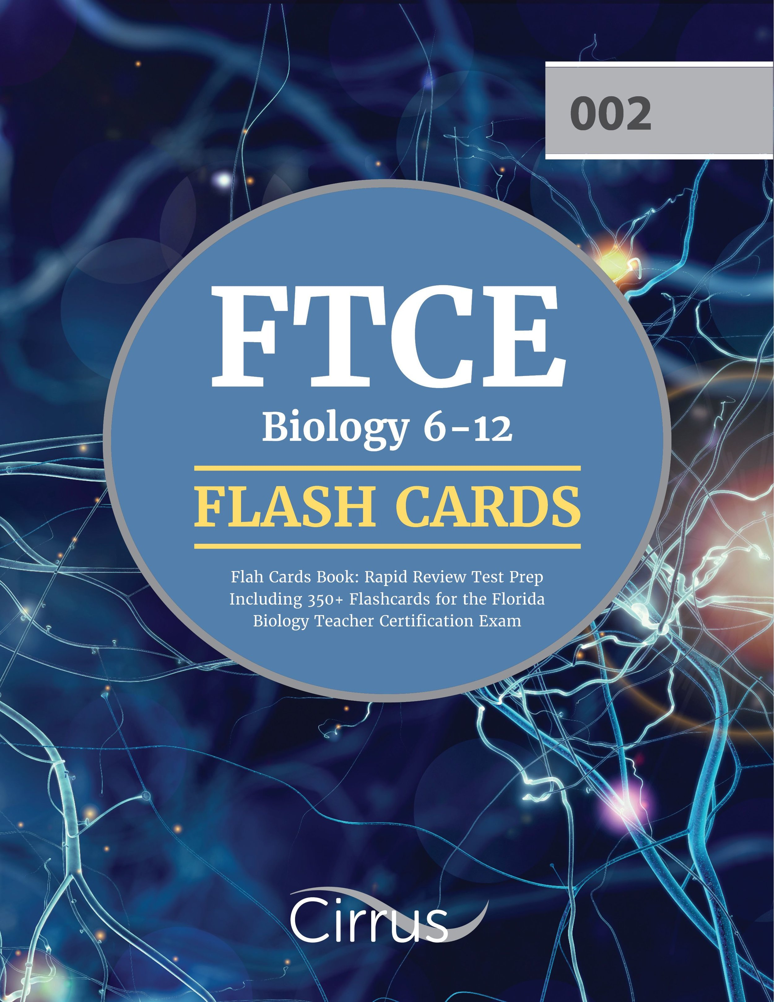 FTCE Biology 6    –    12 Flash Cards Book