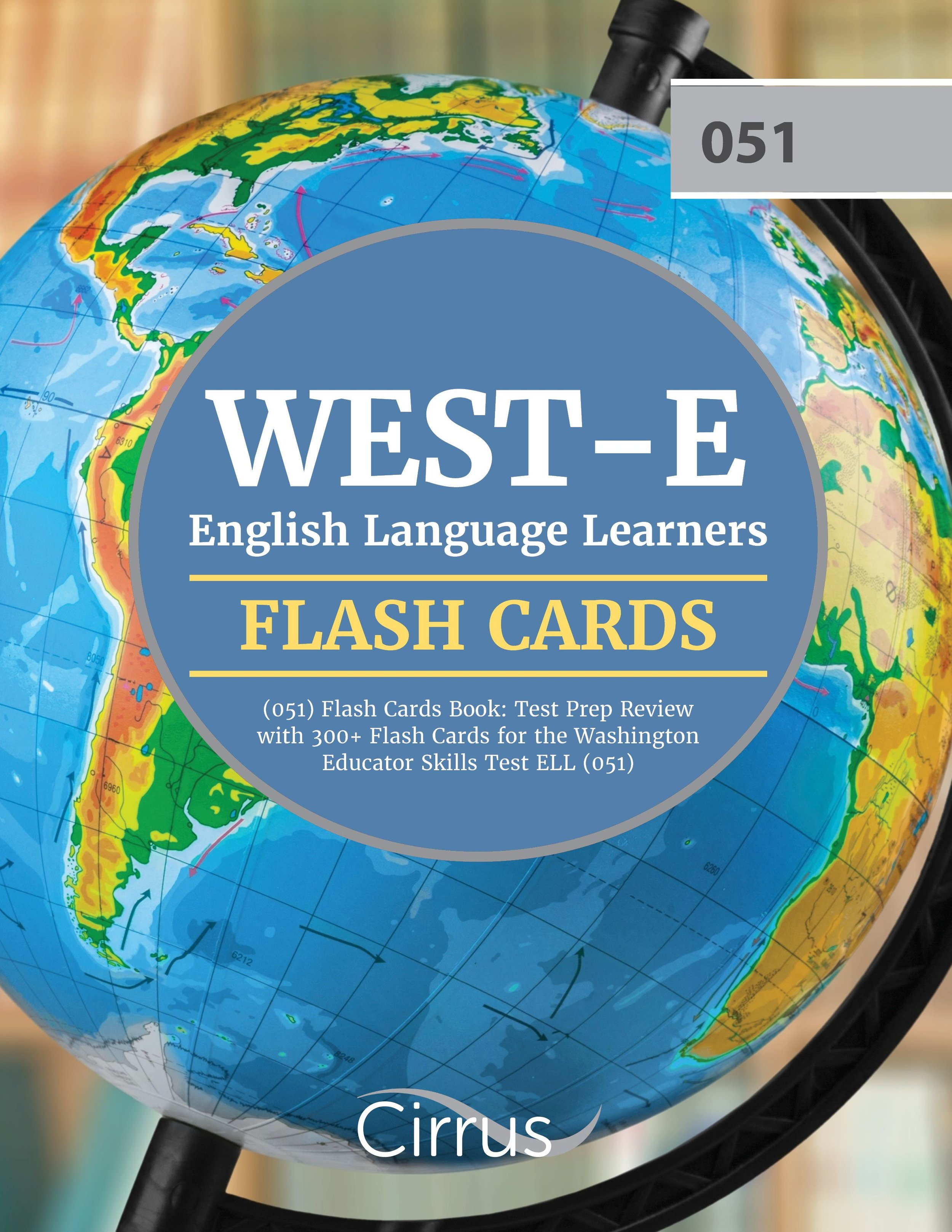 WEST-E English Language Learners Flash  Cards Book