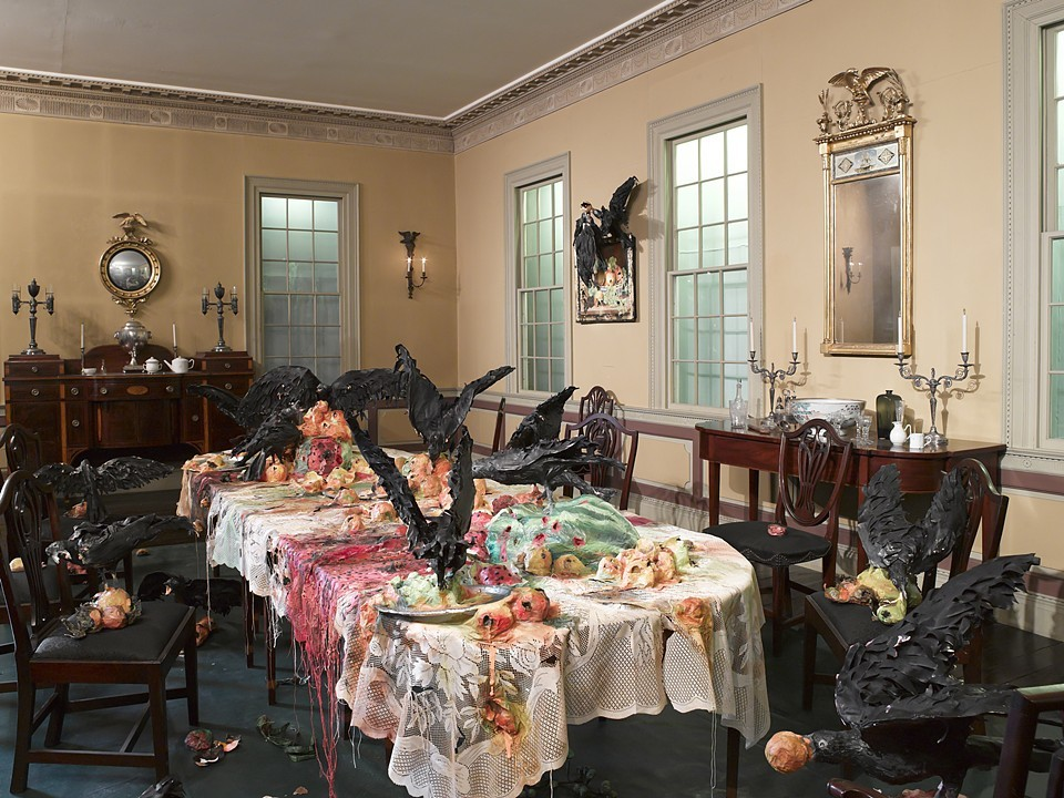 Alternative Histories The Brooklyn Museum The Canes Acres Plantation Dining Room