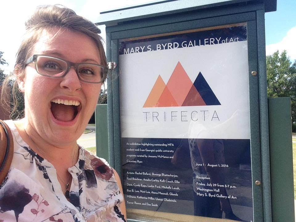 Myself at Trifecta 2016 Summer Augusta University