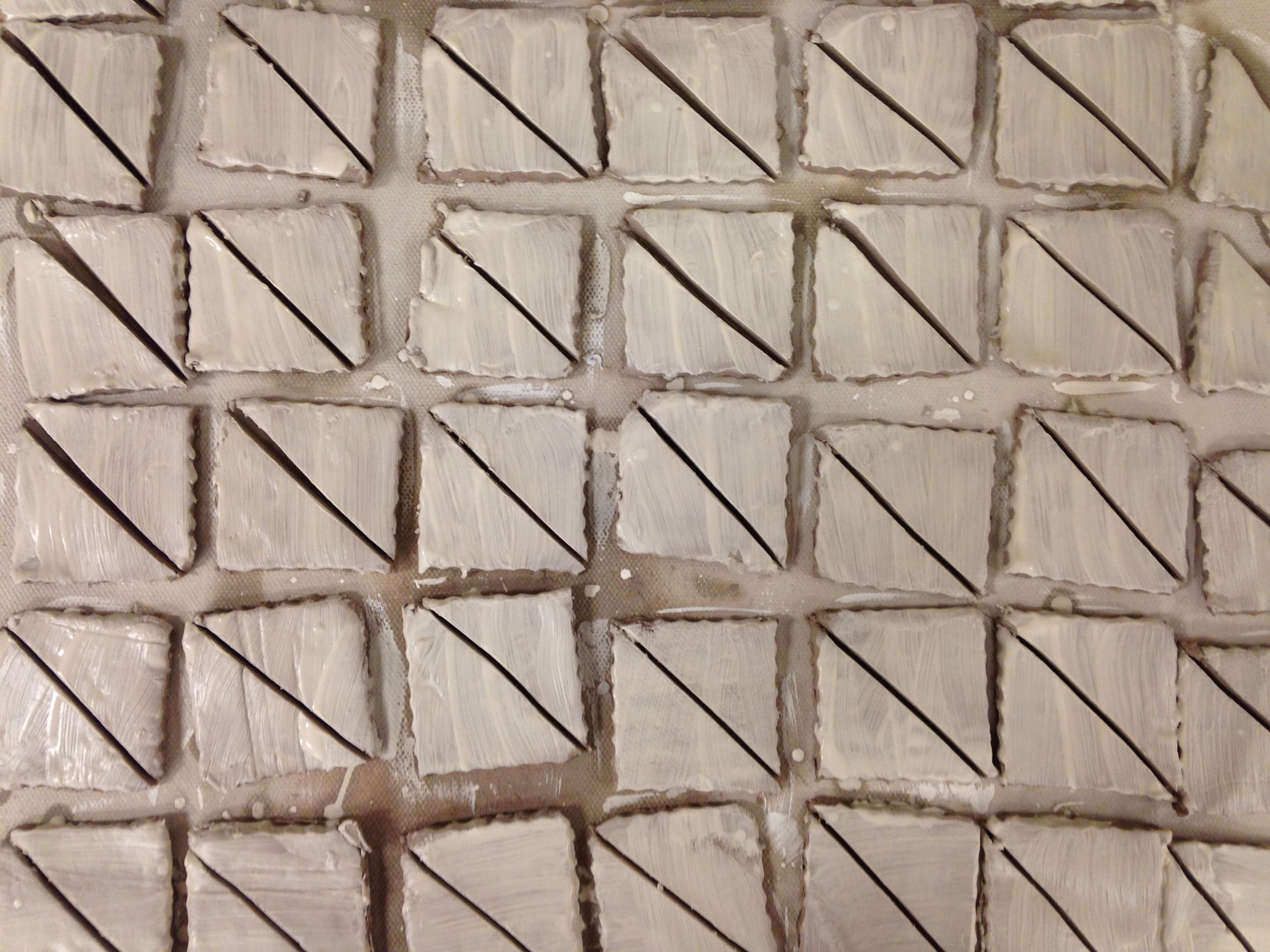Making test tiles