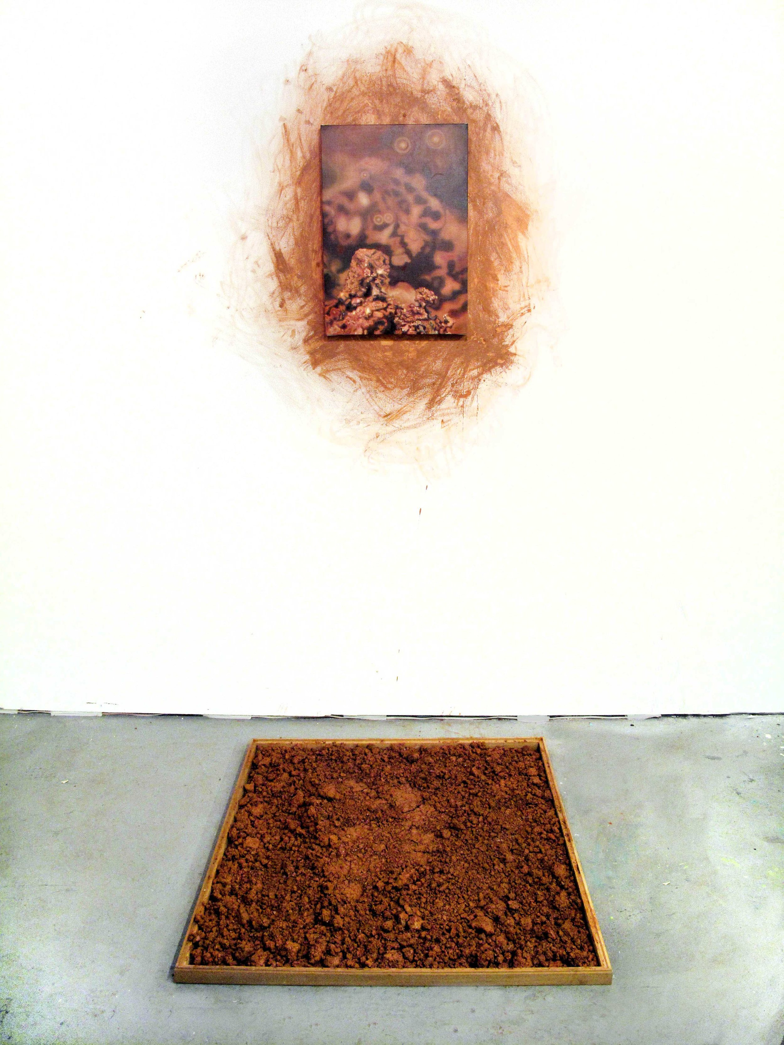 Copy of Carley, Amelia %22breathless city of a hundred hills (study of Georgia soil)%22 oil on canvas, georgia soil, wood_about 78Hx42Wx46L_2016.jpg
