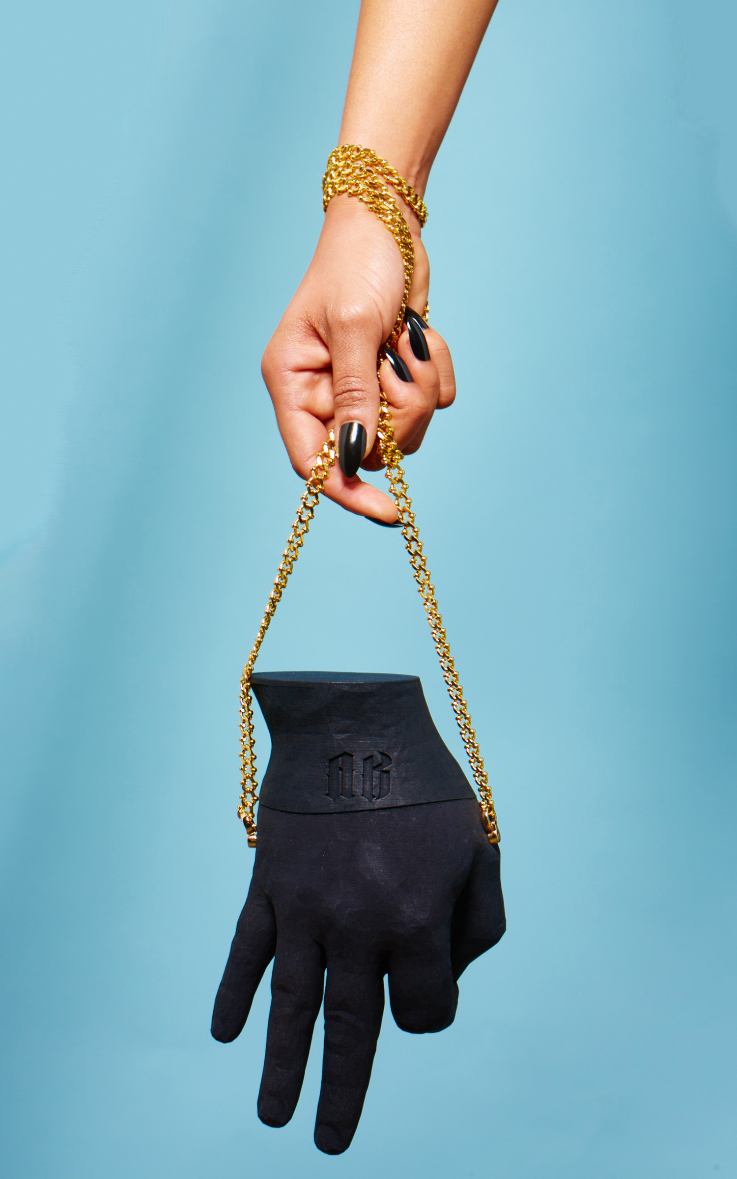 3D SCANNED HAND PURSE