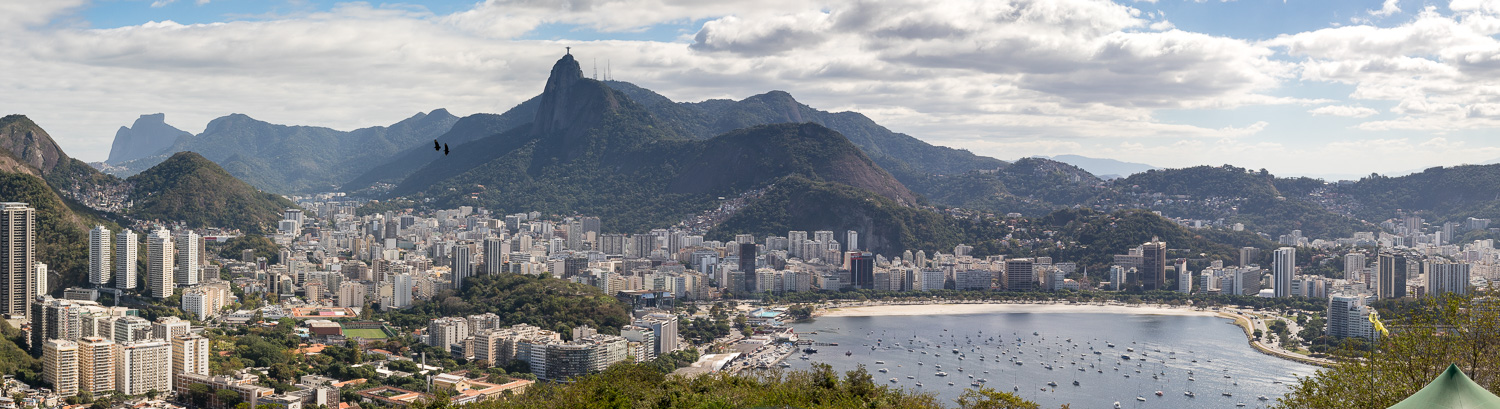 View of Rio de Janeiro from the top of Sugarloaf