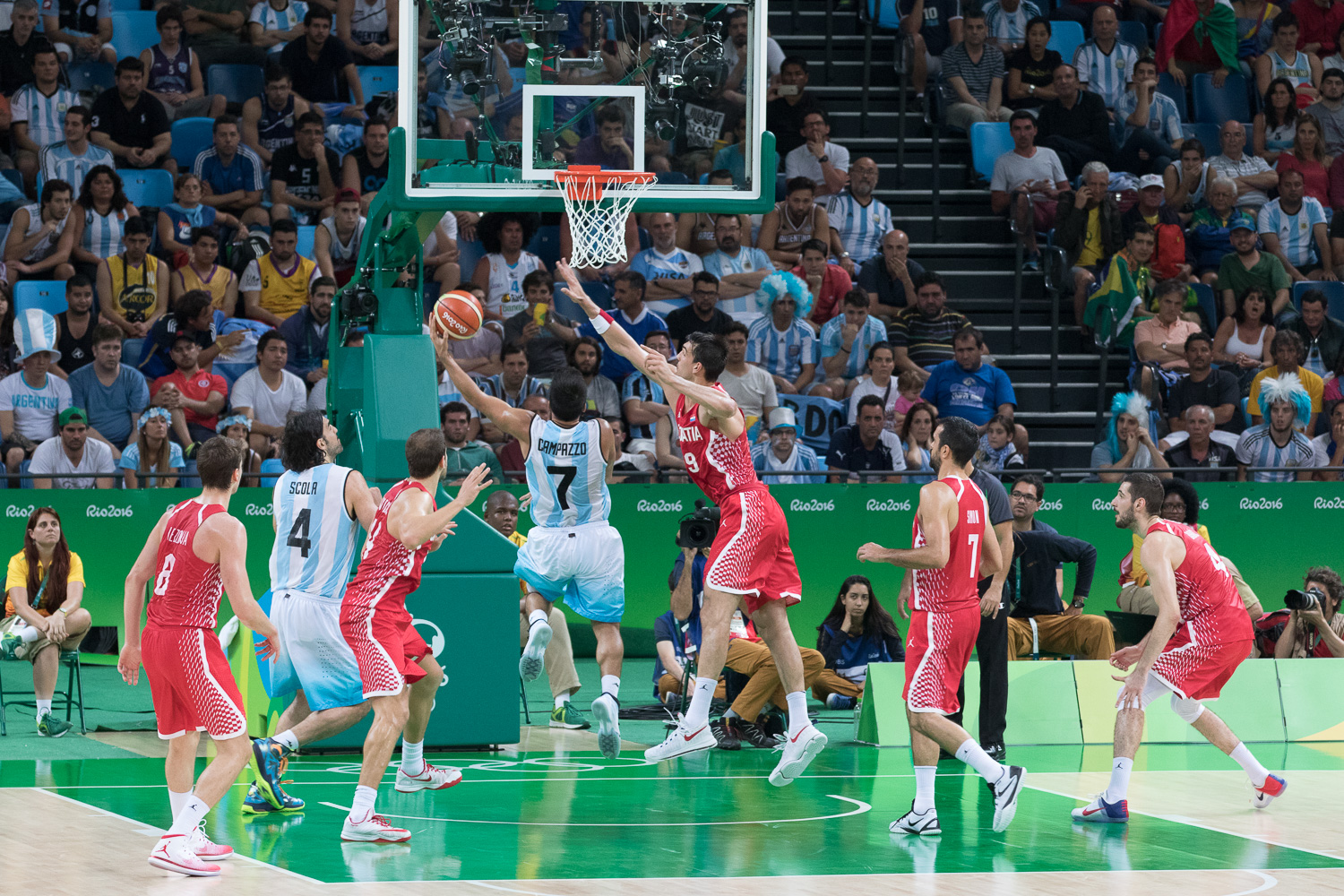 ARG vs CRO in Men's Basketball