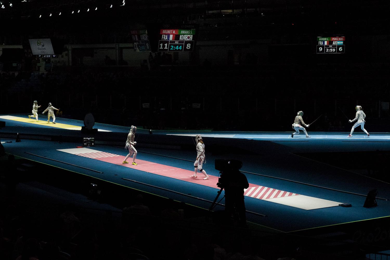 Wide shot of the Carioca 3 Arena