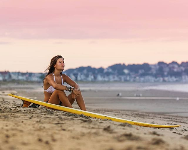 I have always been an evening session surfer. There is no better feeling than laying on the beach or sitting in the line up and watching the sun set behind you. As the light fades and you try to catch just one more really good ride, that's the best way to finish any day.  #bostonphotographer #womenandsurf #surfmylove #surfmagazine #surfergirl #surfstyle #adventurephotography #surfline #eastwaves #surfphotography #womensurfing #surflikeagirl #surferphotos #surfergirls #surfervibe #surflifestyle #surferworld #beachlife #beachvibes #surfersparadise  #stayandwander #catchingwaves #eastcoastcreatives #eastcoast #atlanticsurf
