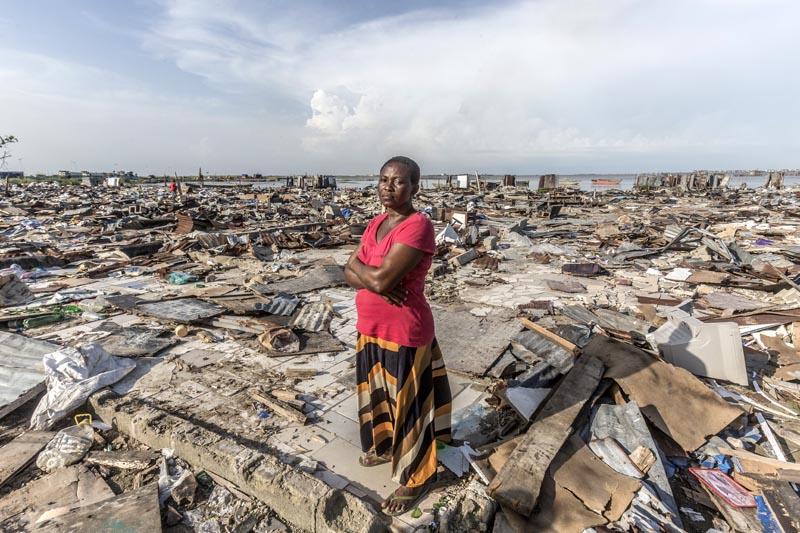 LAGOS WATERFRONT DEMOLITION