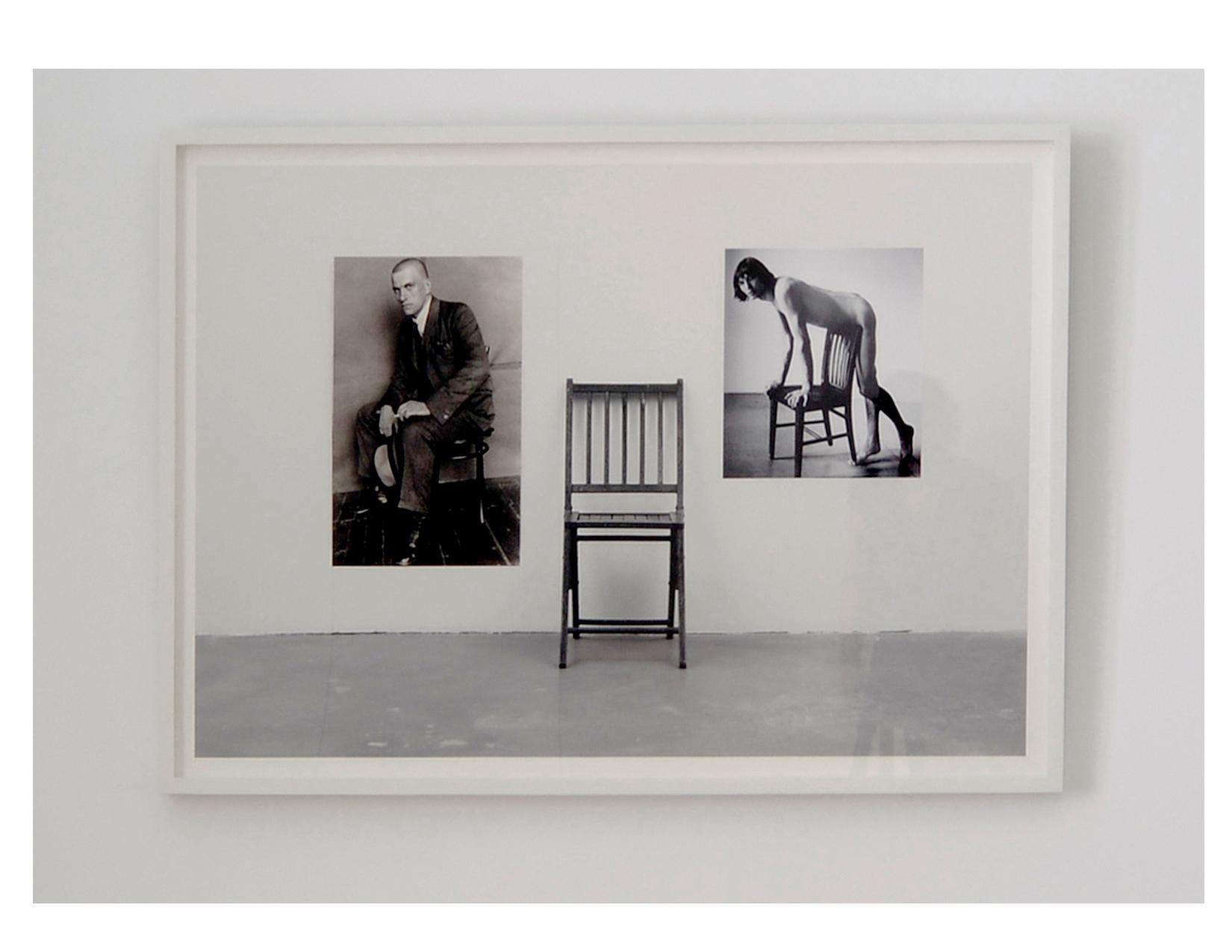 "Three Chairs Three 2011 Archival Pigment Print 31.5"" x 40""  ( framed )"