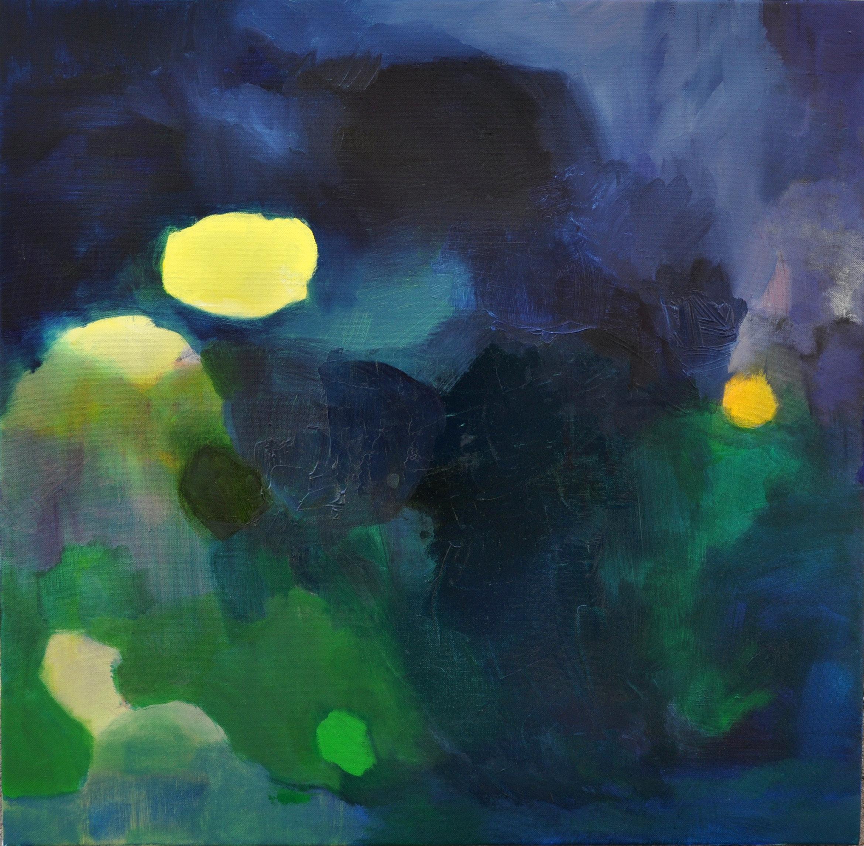 """Reflection Nebula. Oil on canvas. 24""""x24"""""""