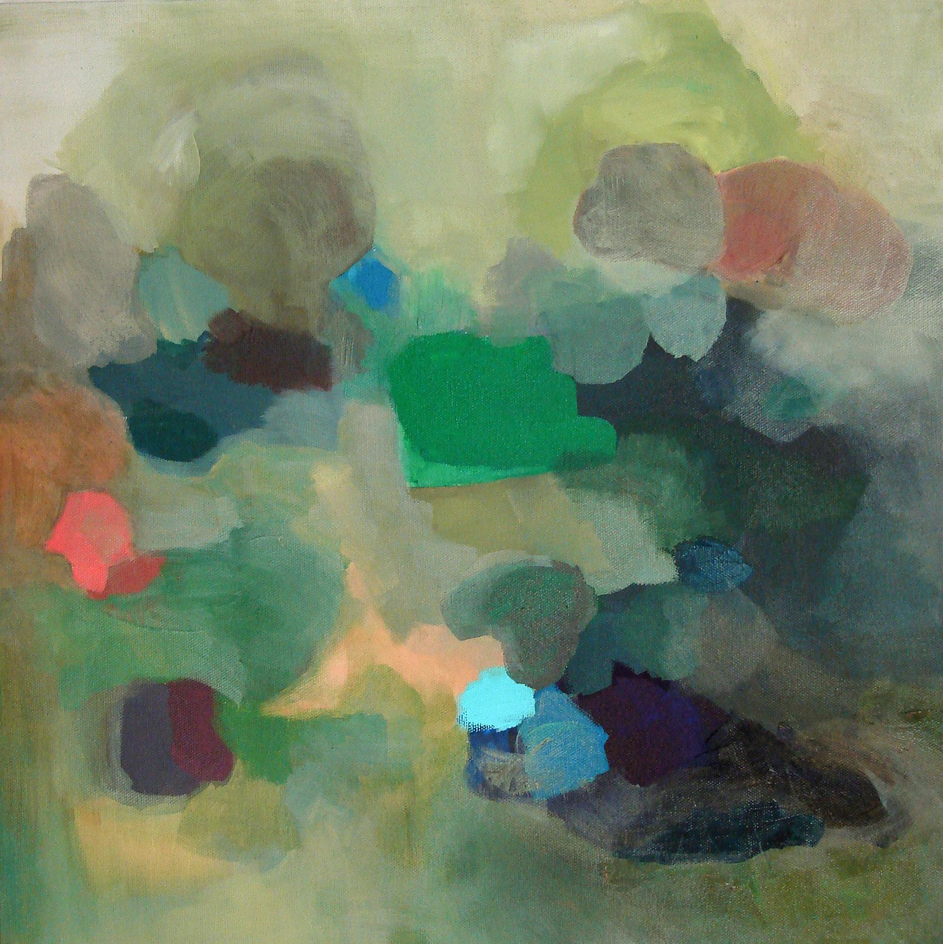 "Heart of Tara. Oil on Canvas. 20""x 20"""