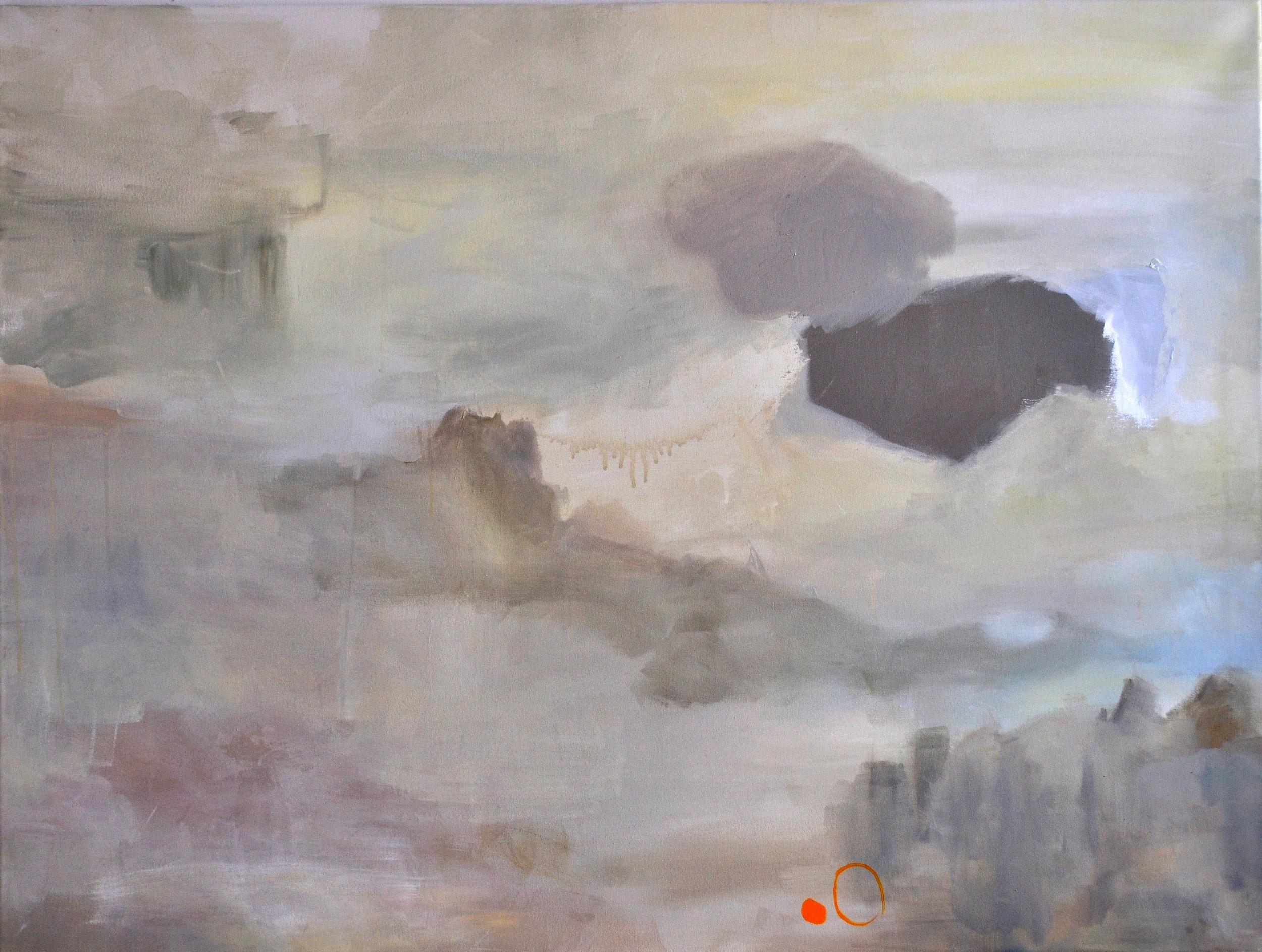 """A Place Creates Itself. Acrylic on Canvas. 36""""x 48"""""""
