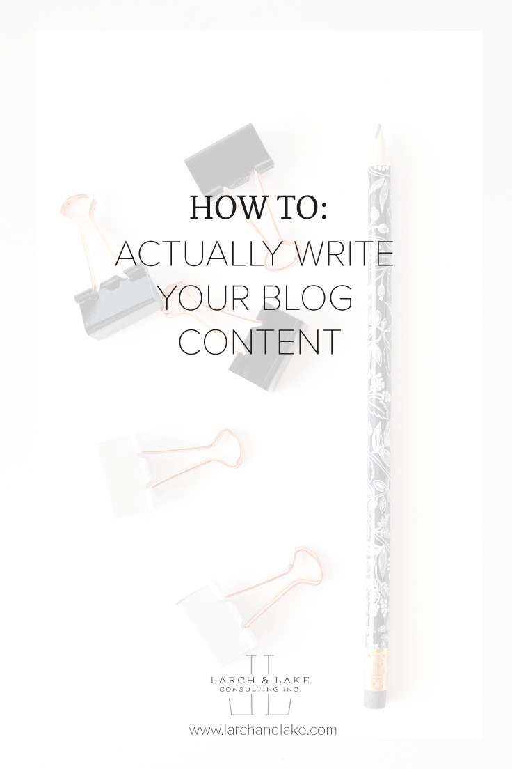 This is the process I use for every single blog post, it has helped me go from staring at a blinking cursor on my computer screen to writing and posting content on a weekly basis.