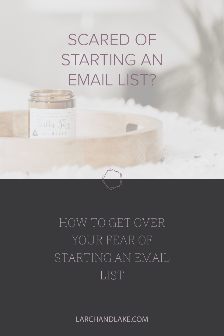 Email lists, we all know we should have one and yet there is so much resistance to starting or maintaining one.
