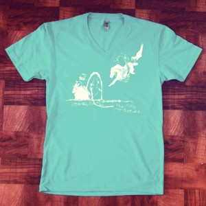 The City and Horses T-Shirt