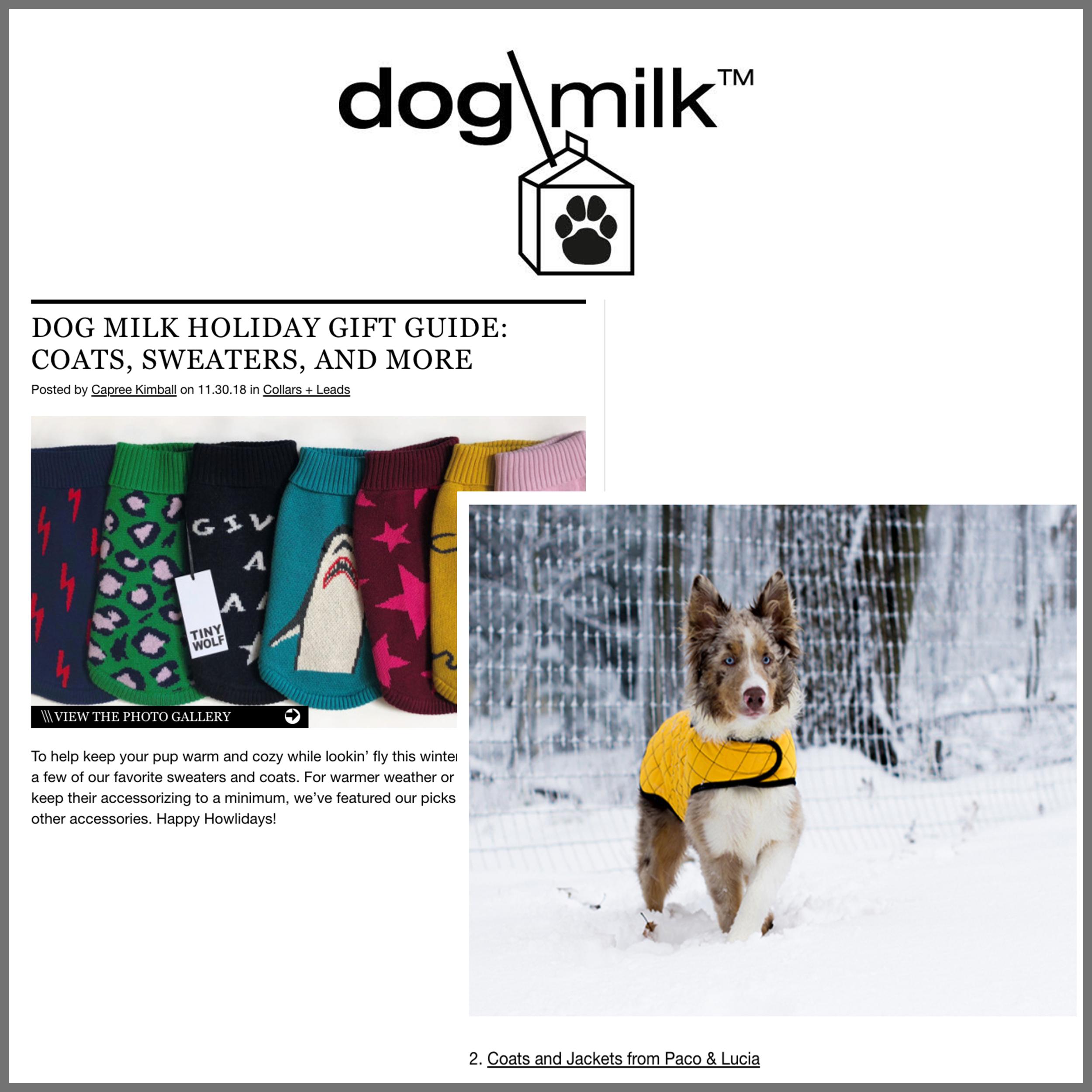 Press Dog Milk