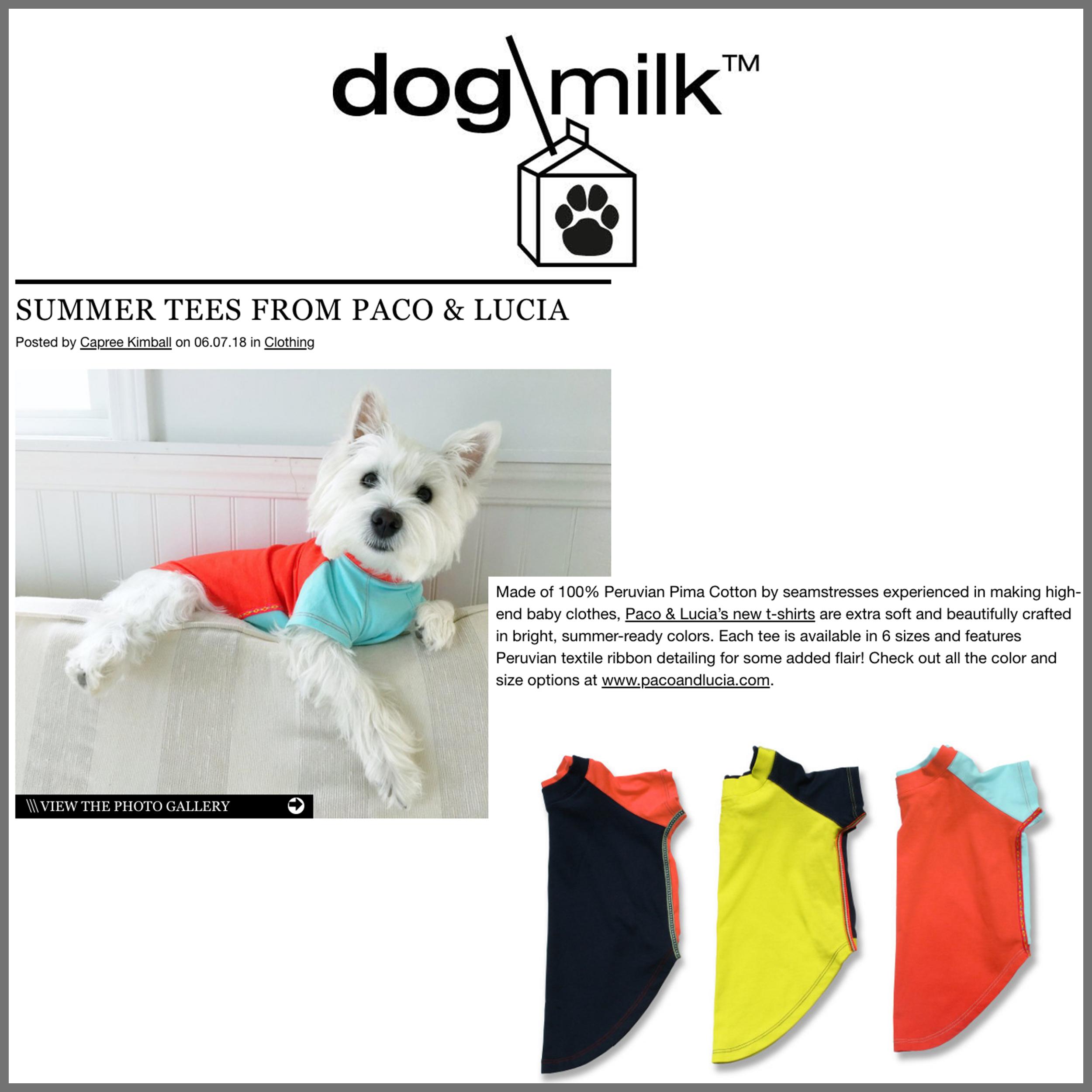Press Dog Milk June 18