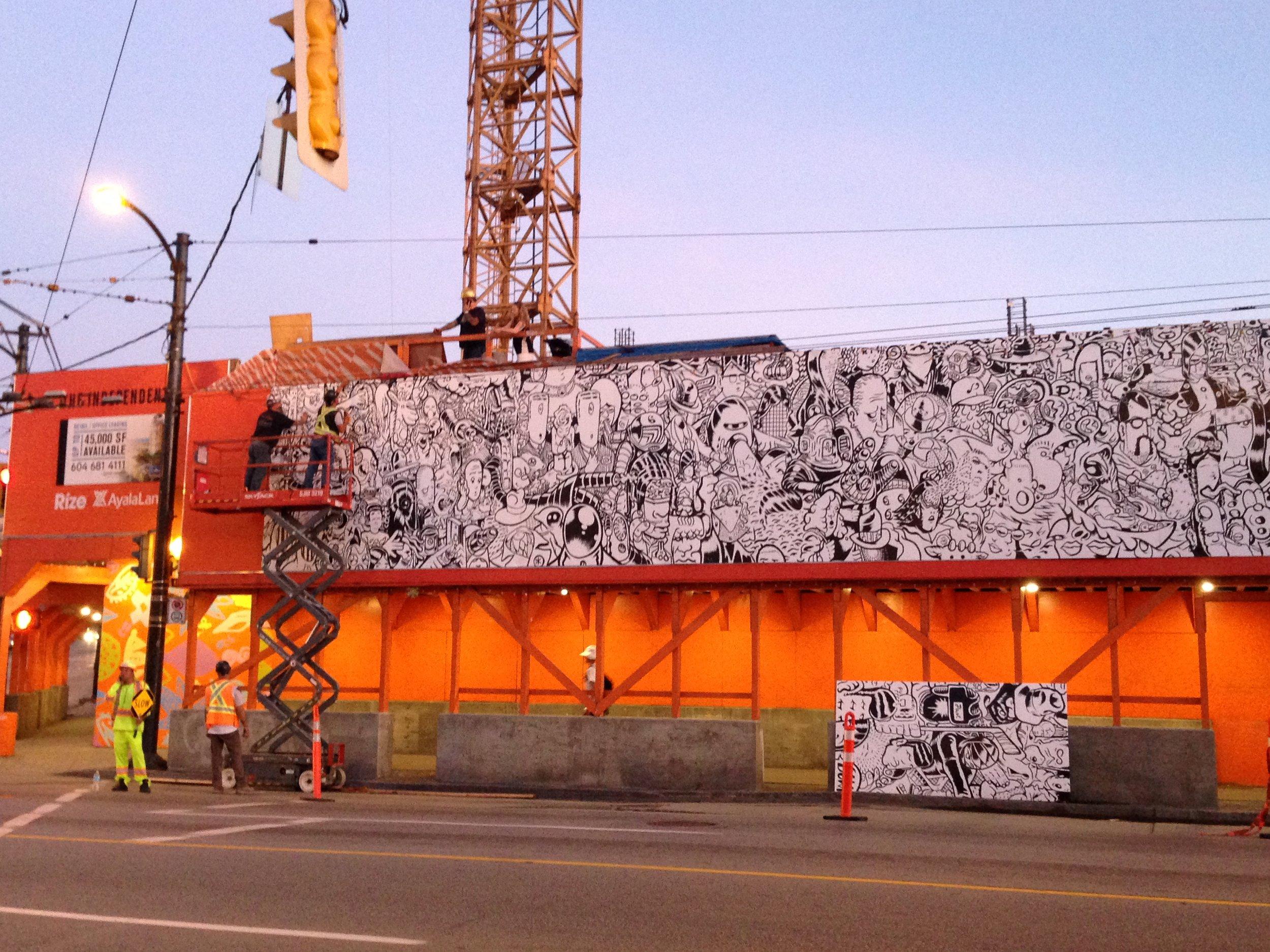 Vancouver Mural Festival RIZE Alliance