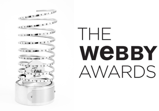 2018 WEBBY  360° BRANDED EXPERIENCE