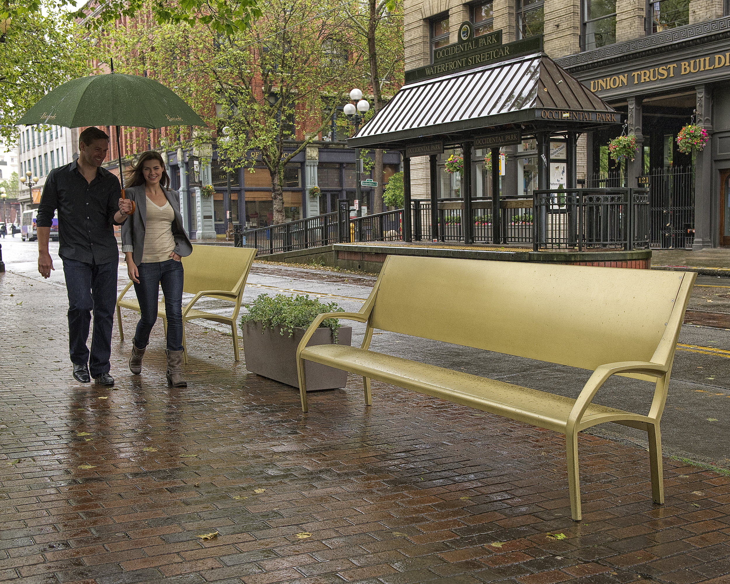 Maggie Bench for Landscape Forms