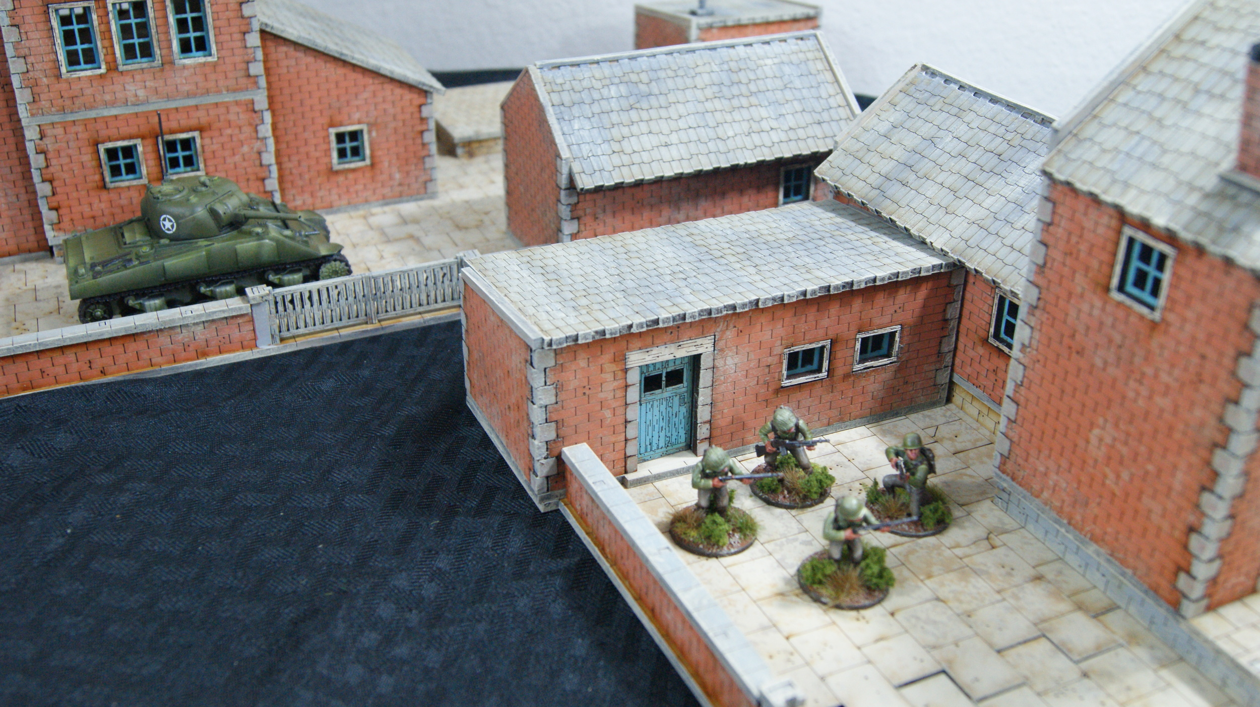 Bolt Action Dust Tactics WWII 28mm Terrain Crescent Root Series 2