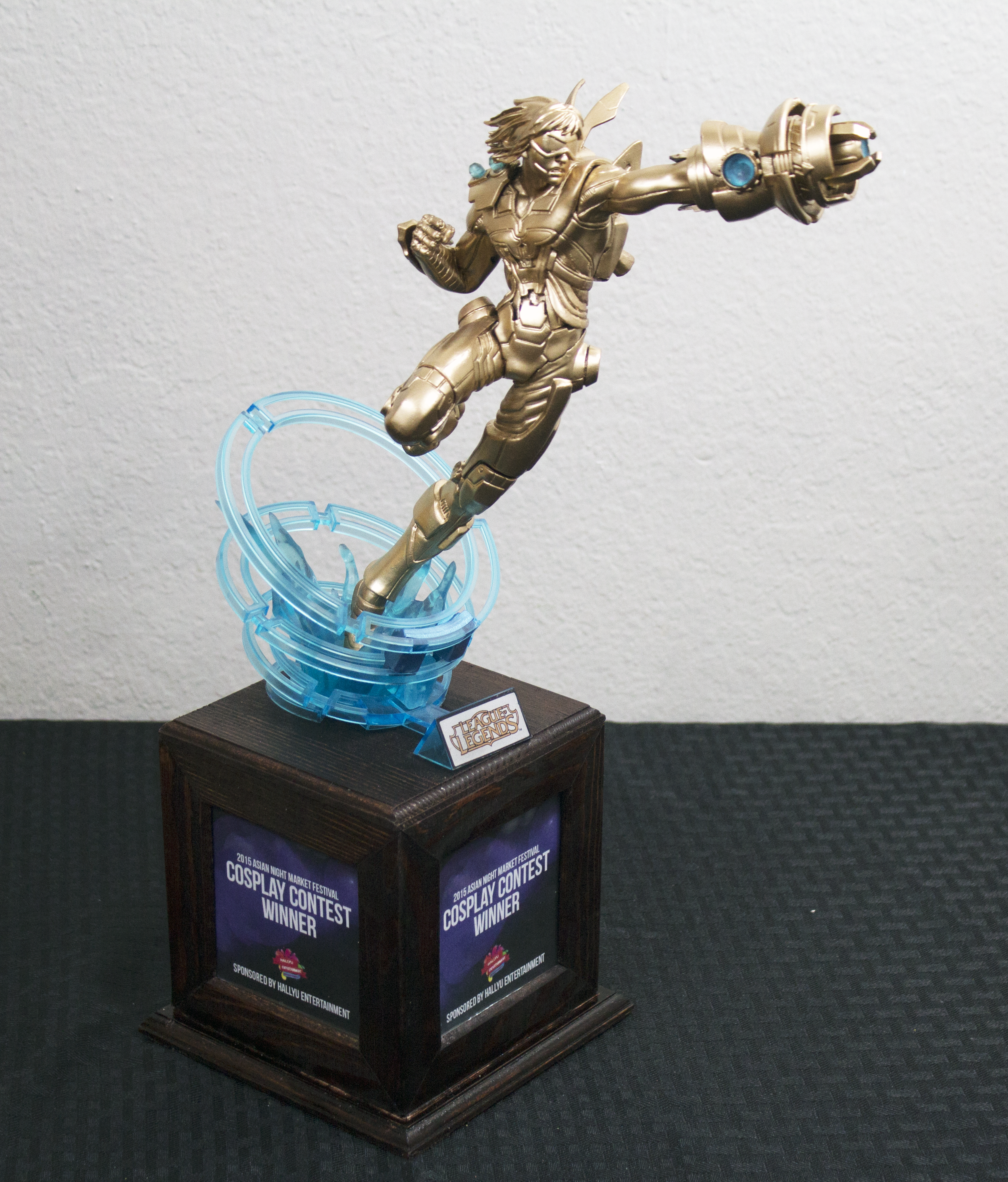 League of Legends Custom Trophy Ezrael