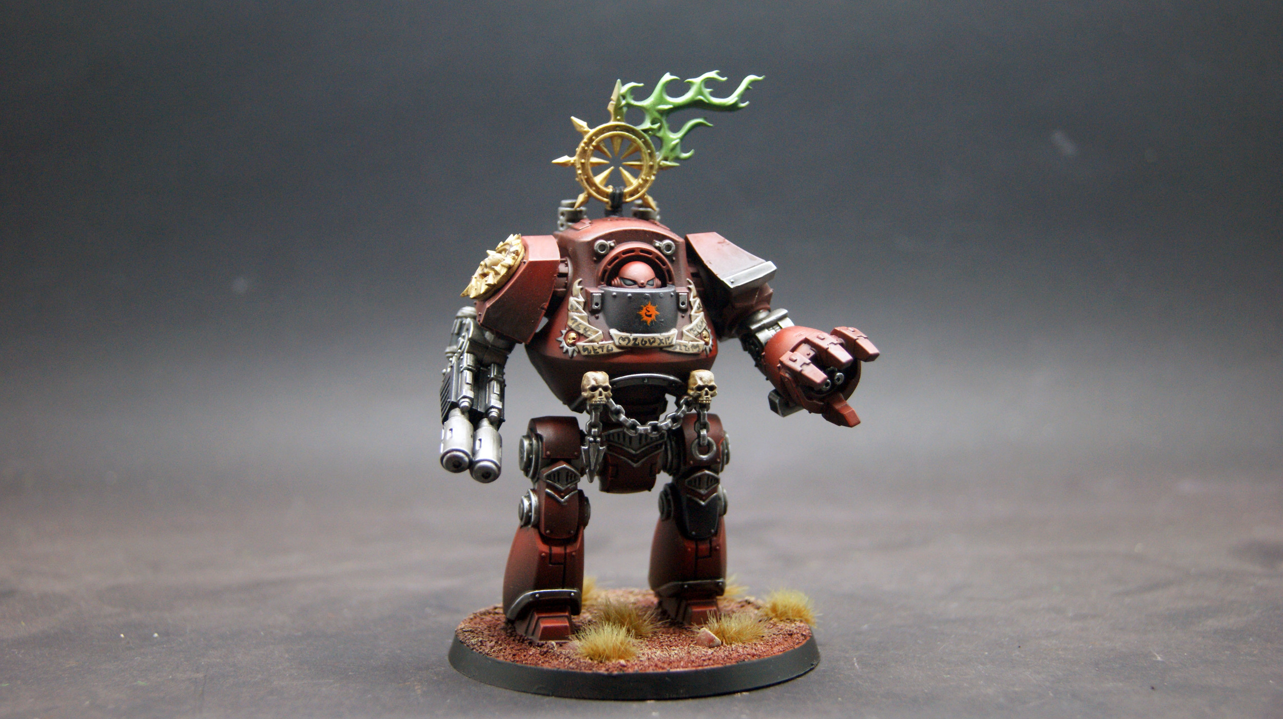 Horus Heresy Betrayal at Calth: Word Bearers Contemptor Dreandought