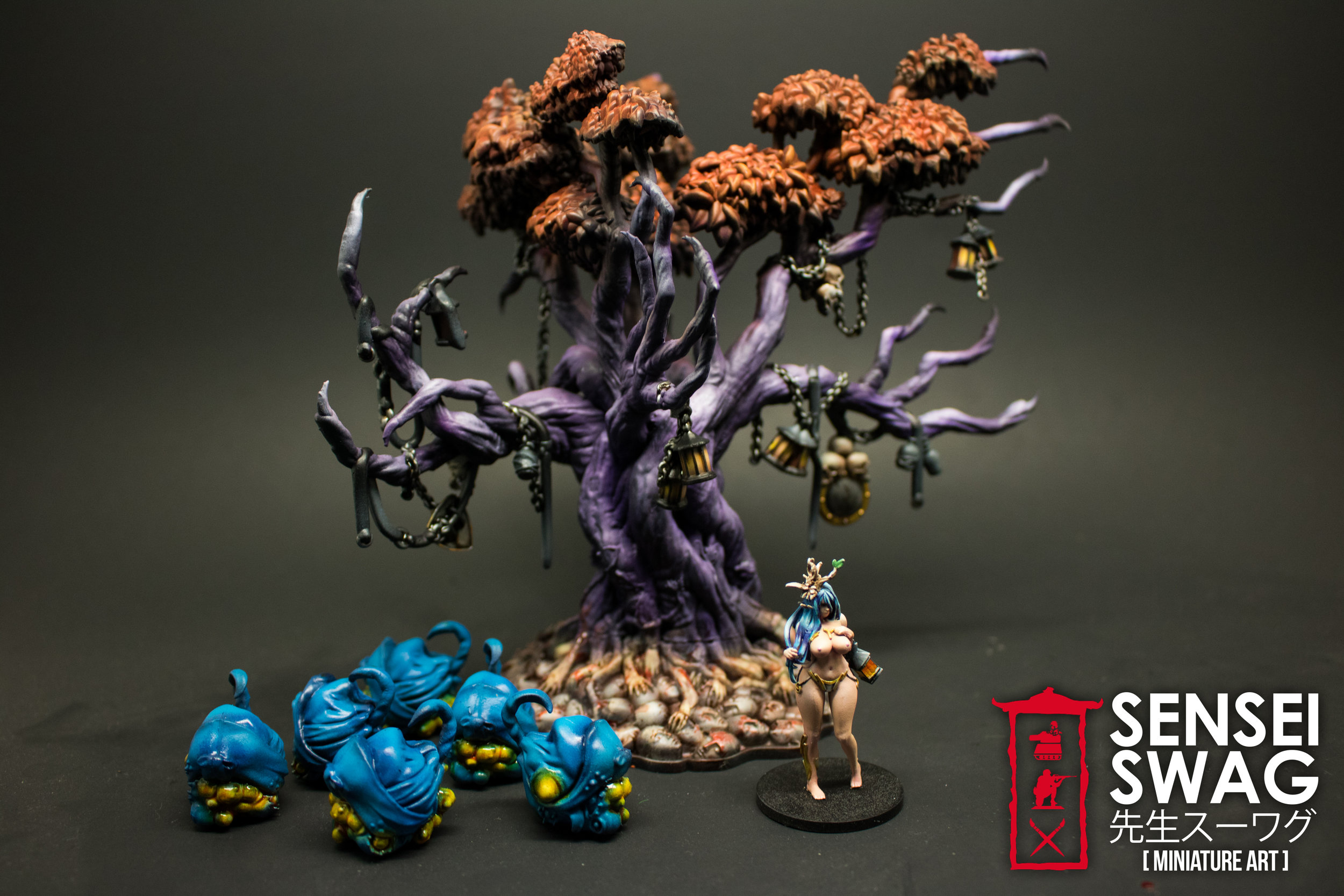 Kingdom Death Monster Lonely Tree Painted Painting Lonely Muse Kickstarter Pinup-1.jpg