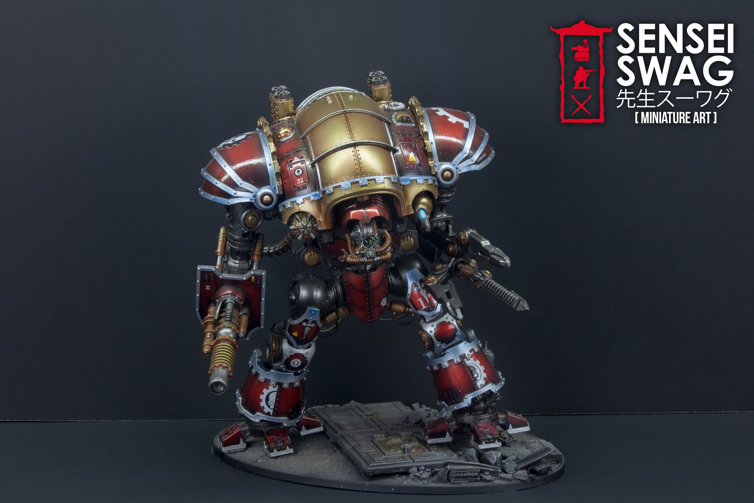 Adeptus Mechanicus War Convocation 40k Ad Mech Gloss Chrome Red-1.jpg