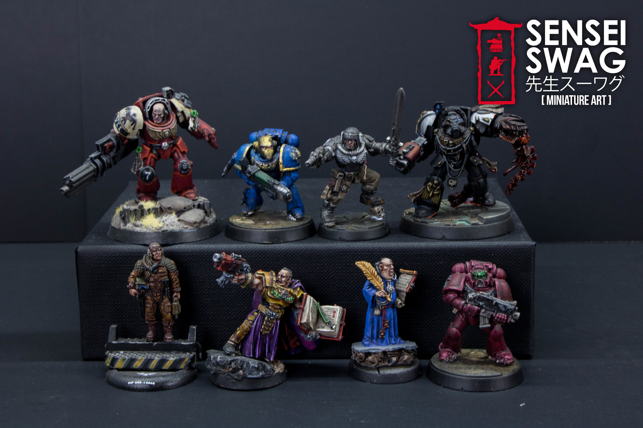Agents of the Inquisition Inquisitor Retinue 40k (3 of 6).jpg