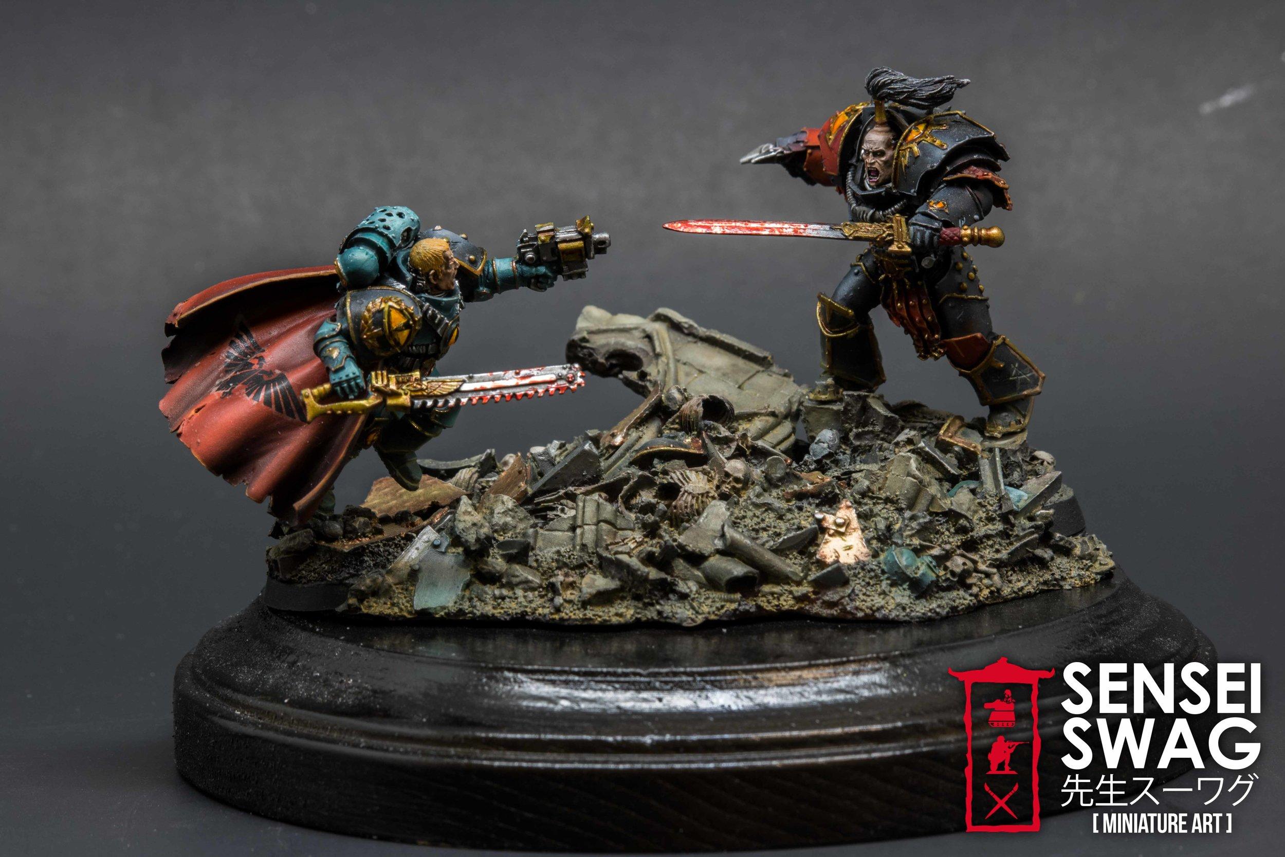 Abaddon vs Loken 30k Forgeworld Horus Heresy 40k Warhammer diorama Character Series (3 of 4).jpg