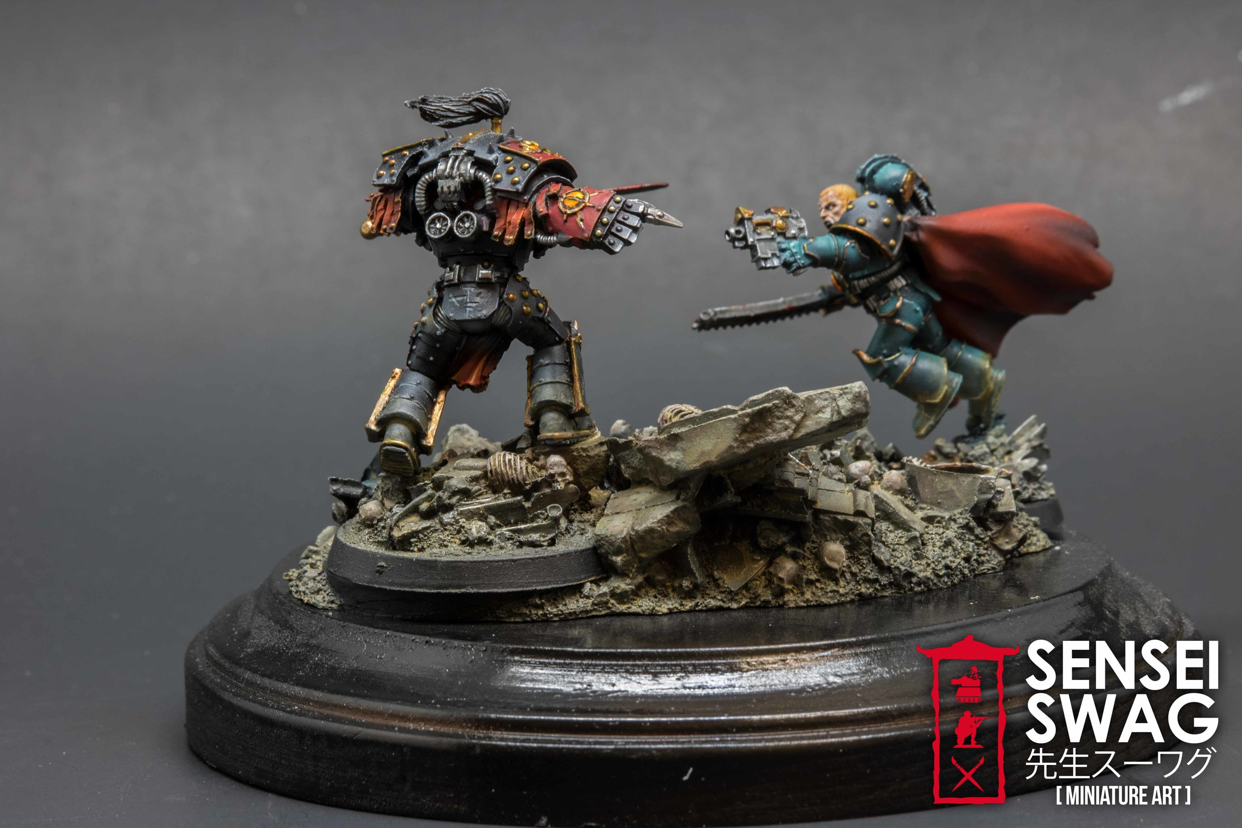 Abaddon vs Loken 30k Forgeworld Horus Heresy 40k Warhammer diorama Character Series (4 of 4).jpg