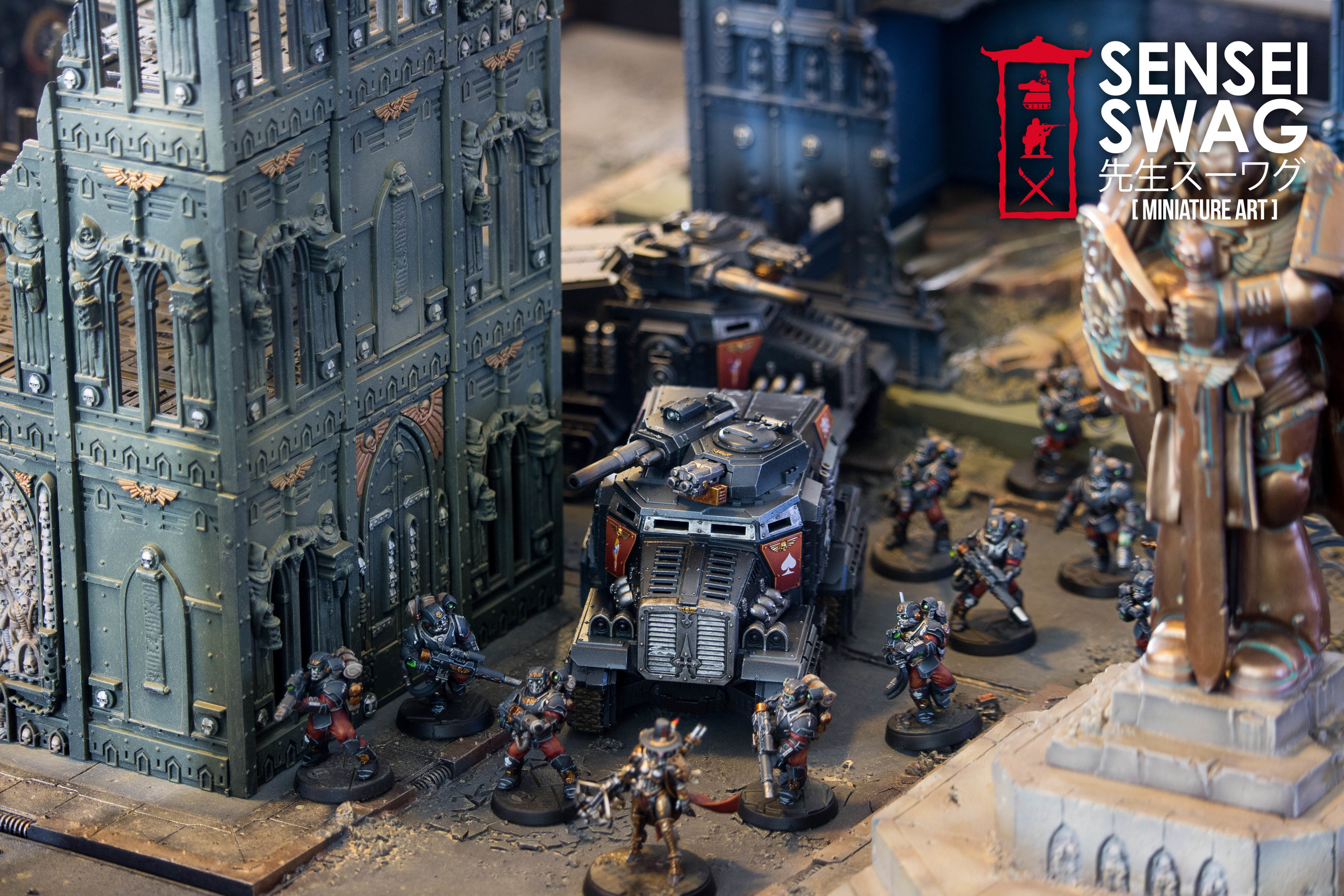 Warhammer 40k Cityfight Apocalypse Industrial Imperial Sector Forgeworld Gametable-9.jpg