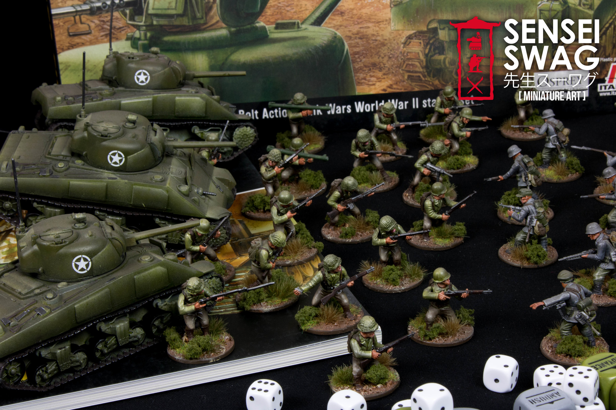 Bolt Action 28mm WWII Americans Germans War Game Flames of War-2.jpg