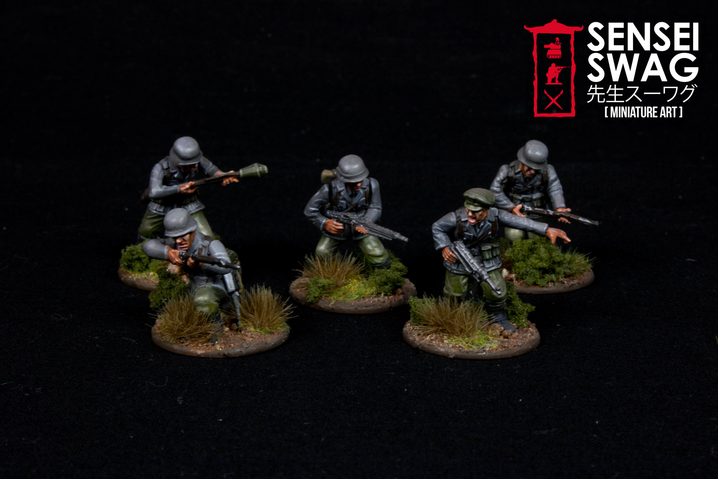 Bolt Action 28mm WWII Americans Germans War Game Flames of War-7.jpg