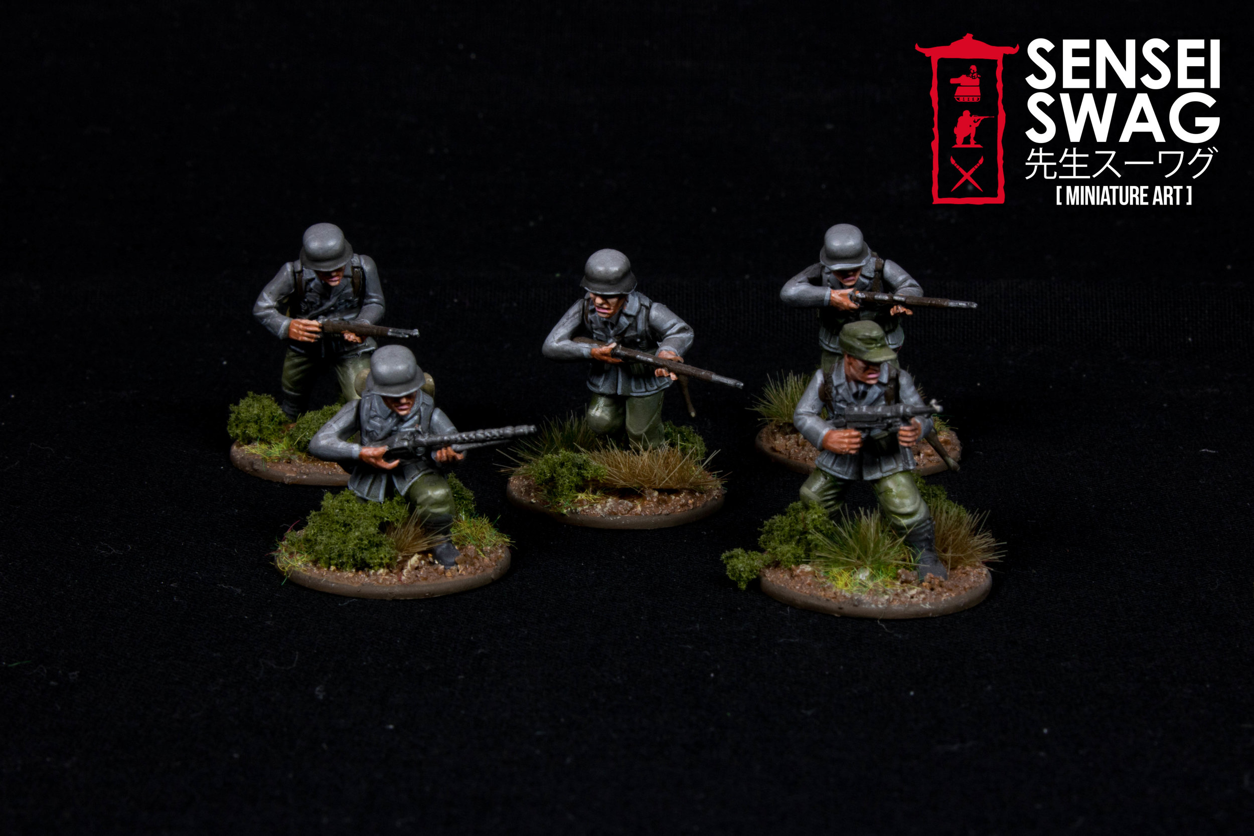 Bolt Action 28mm WWII Americans Germans War Game Flames of War-8.jpg