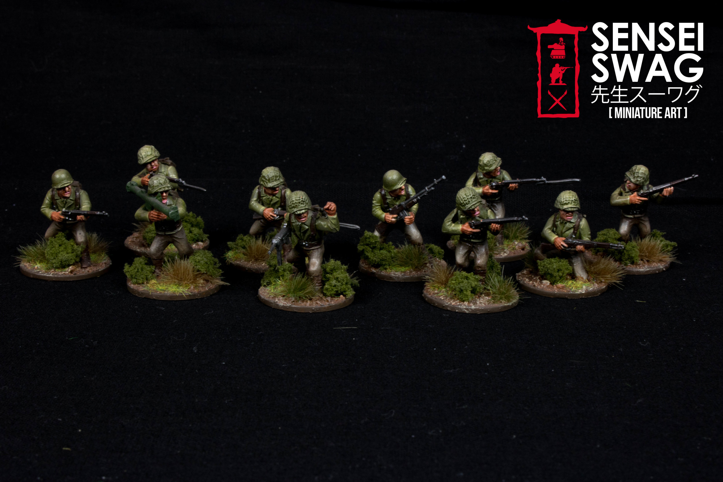 Bolt Action 28mm WWII Americans Germans War Game Flames of War-9.jpg